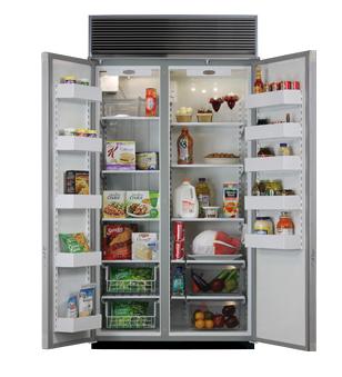 42 Side-by-Side Refrigerator/Freezer (Marvel)
