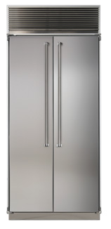 36 Side-by-Side Refrigerator/Freezer (Marvel Professional)