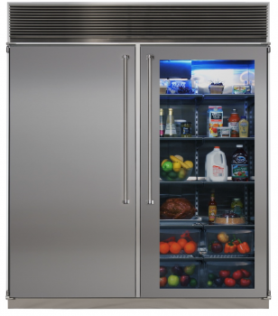 72 Side-by-Side Refrigerator/Freezer (Marvel Professional)