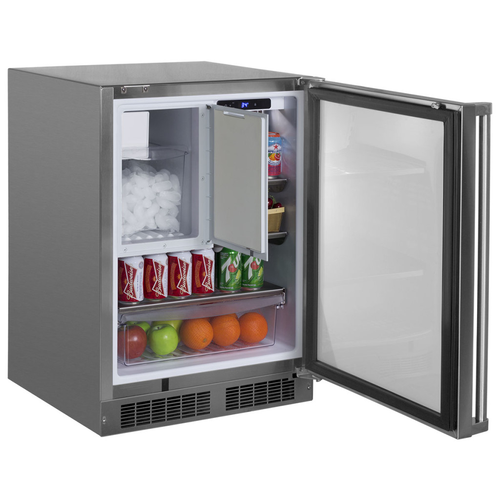 "Model: S42418151 | Marvel  24"" Outdoor Refrigerator/Freezer with Ice Maker Option-Accessories Outdoor Ice Maker Kit"