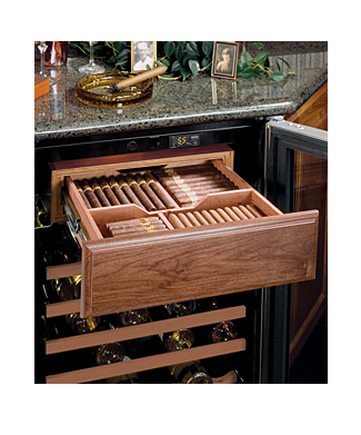 Marvel  Humidrawer Cigar Compartment