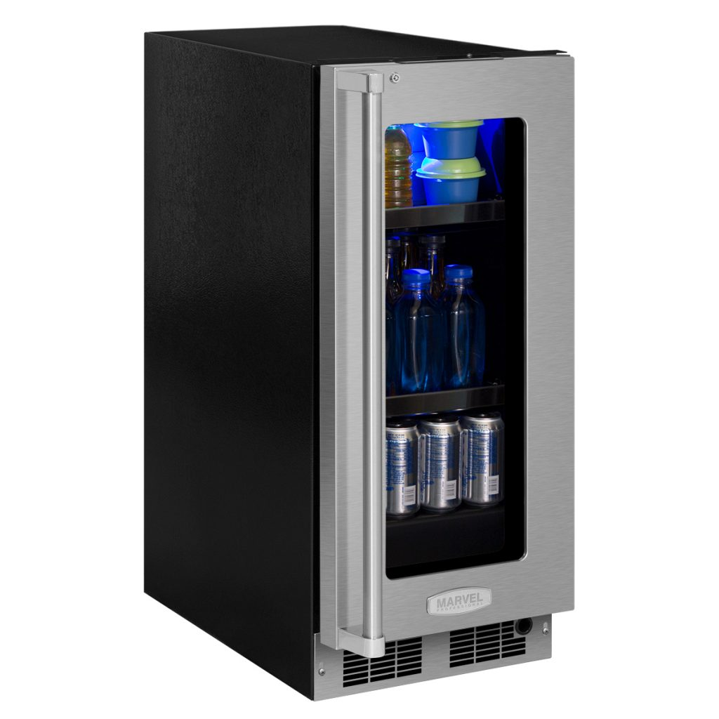 "Marvel  Marvel Professional 15"" Beverage Center- Integrated Right Hinge, Professional Handle"