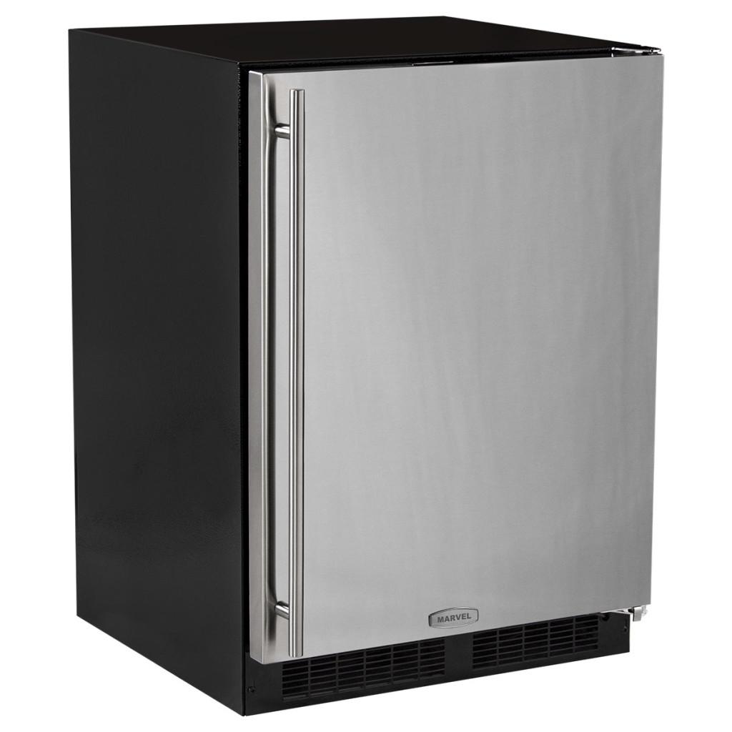 "Marvel  24"" Marvel All Freezer-Solid Overlay Panel Integrated Left Hinge"