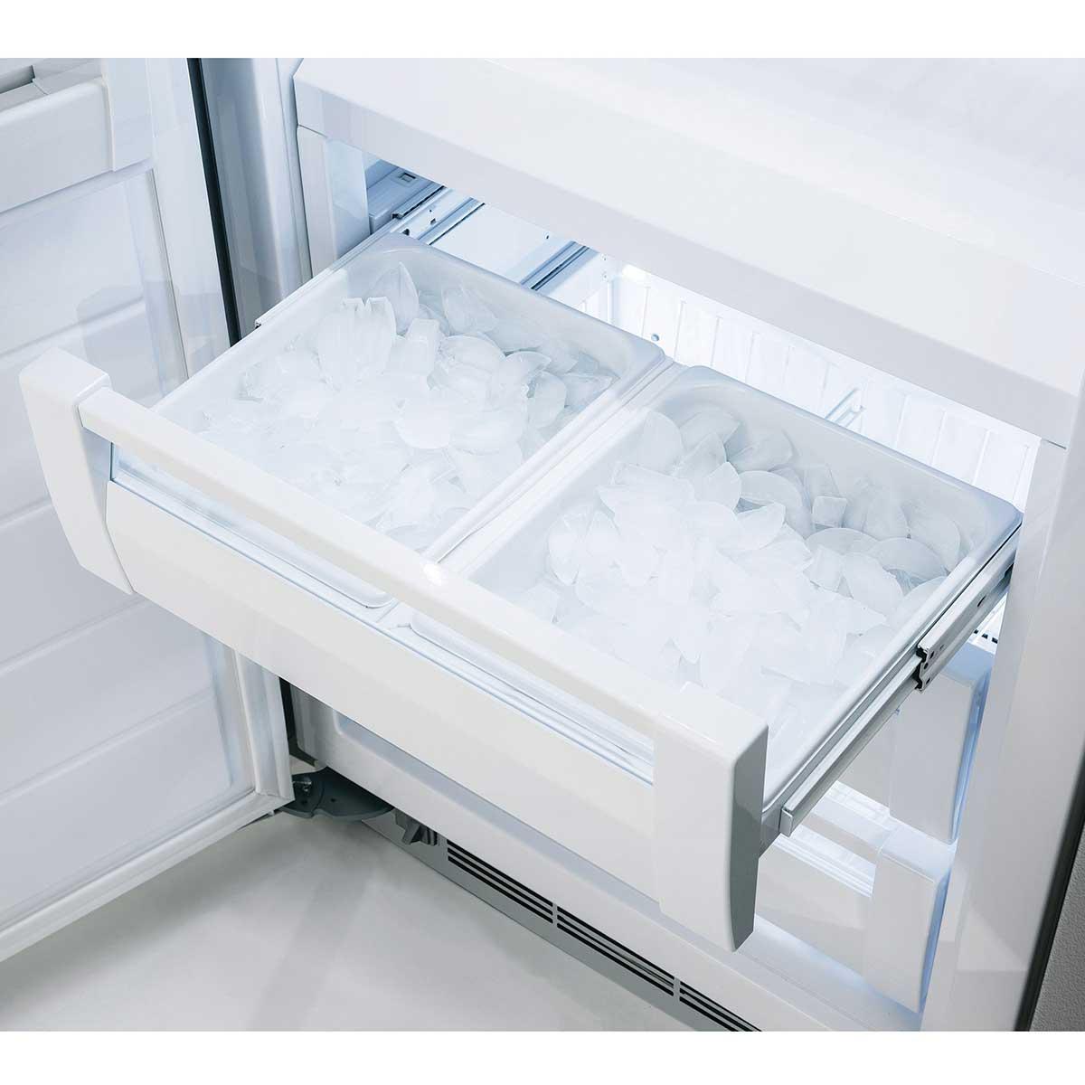"Model: MP30FA2LS | Marvel  Marvel Professional Built-In 30"" All Freezer- Solid Stainless Steel Door  Left Hinge, Slim Designer Handle"
