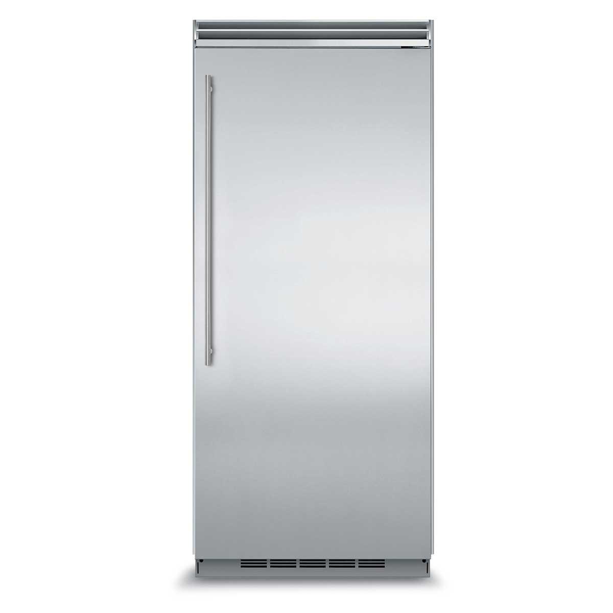 "Model: MP36FA2LS | Marvel  Marvel Professional Built-In 36"" All Freezer- Solid Stainless Steel Door   Left Hinge, Slim Designer Handle"
