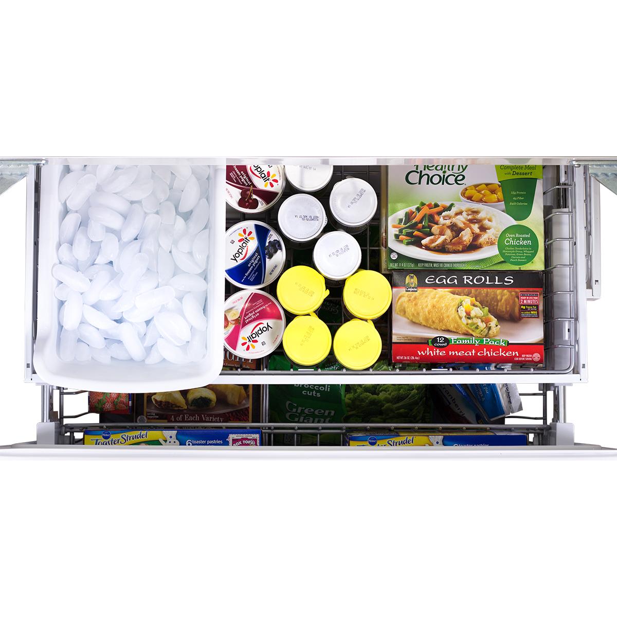 "Model: AMPROFD23-SS | Marvel  Marvel Professional 36"" French Door Refrigerator with Bottom Freezer- 36? French Door Refrigerator with Bottom Freezer"