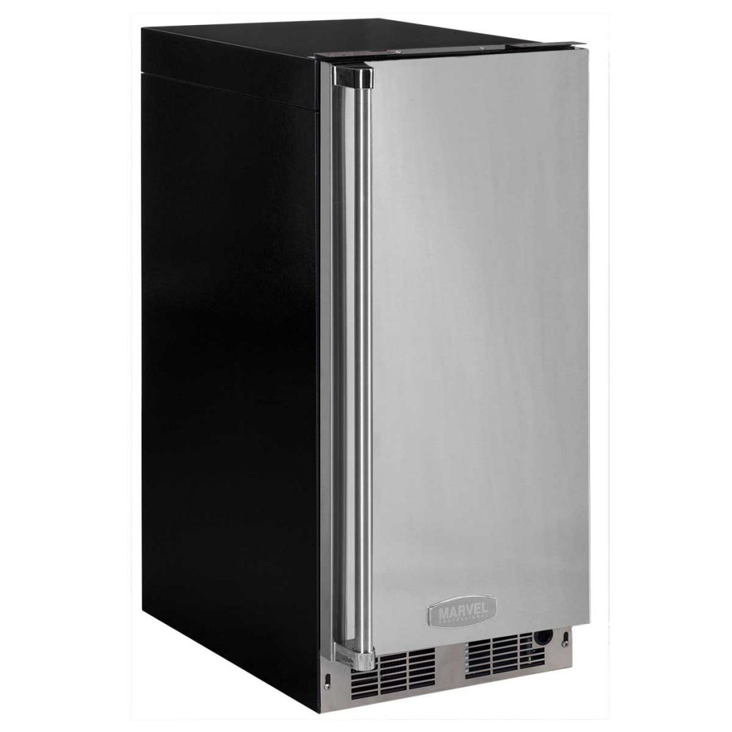 """Marvel  15"""" Marvel Professional Clear Ice Machine with Tri-Color Illuminice"""