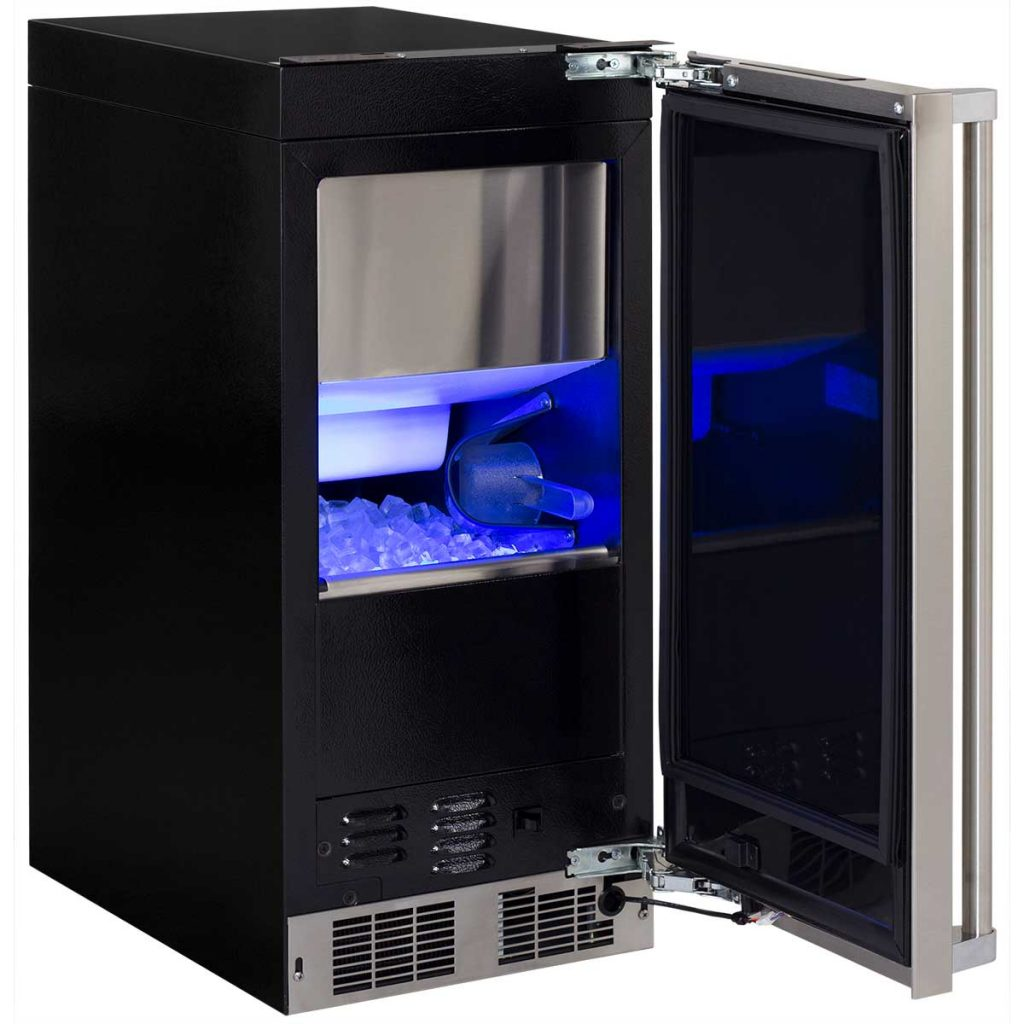 "Model: MP15CPP2LP | Marvel  15"" Marvel Professional Clear Ice Machine with Tri-Color Illuminice"