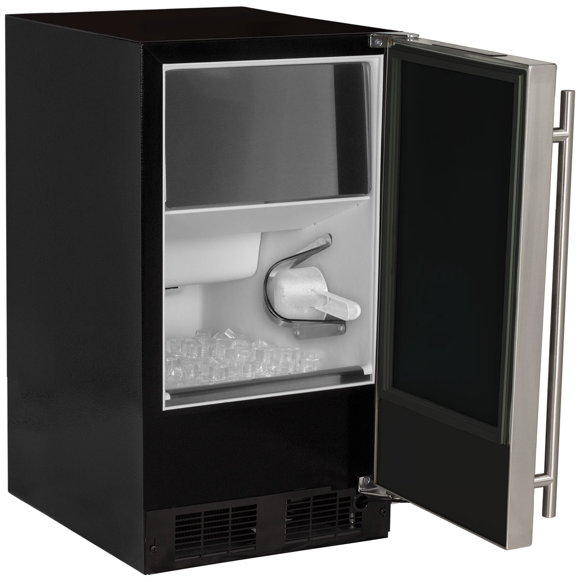 """Model: MA15CLP1RP   Marvel  15"""" ADA Height Clear Ice Machine-Gravity Drain Panel-Ready Solid Overlay Door"""