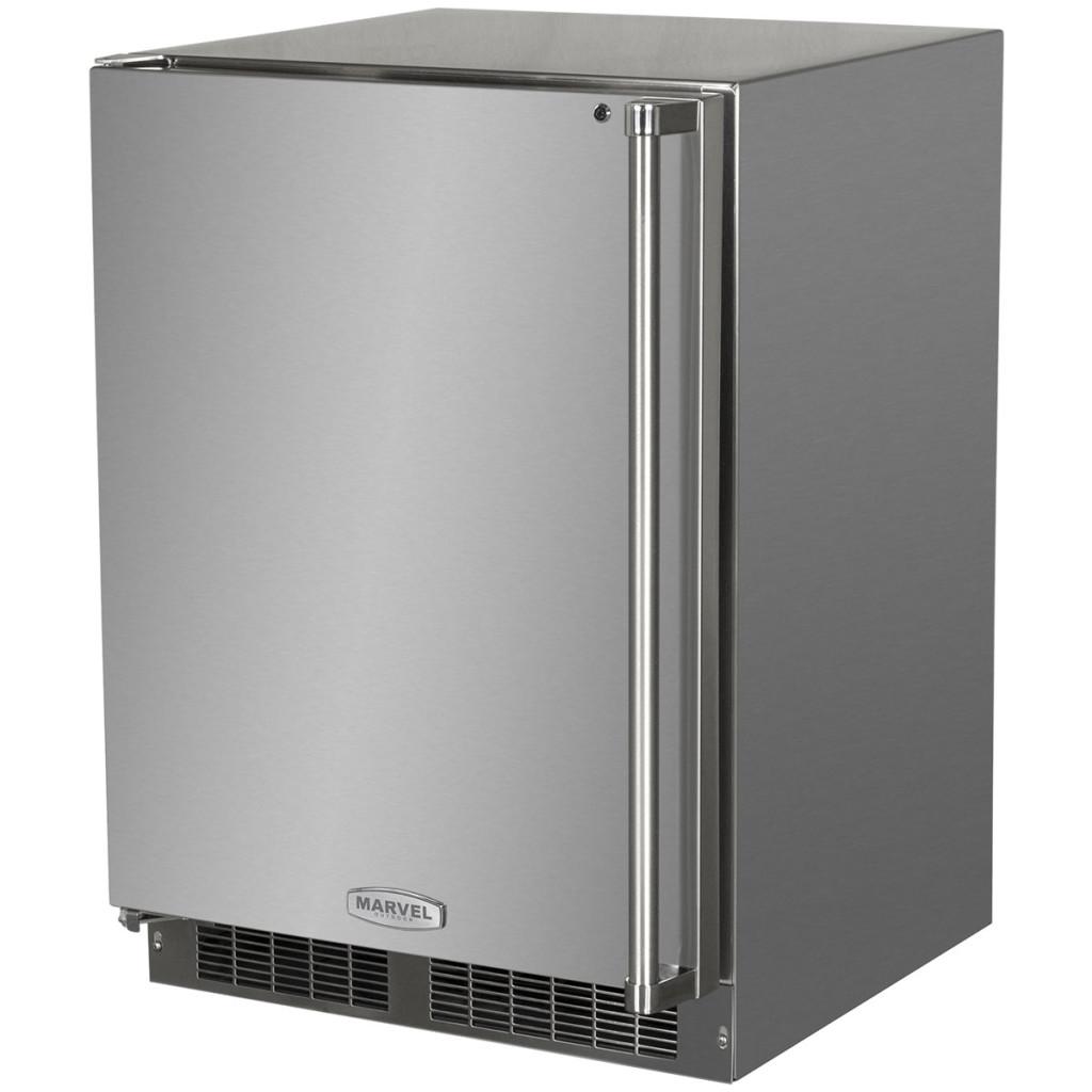 "Model: MO24RFS2LS   Marvel  24"" Outdoor Refrigerator/Freezer with Ice Maker Option"