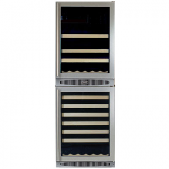 Full Size Combination Units Beverage Center and Wine Cellar