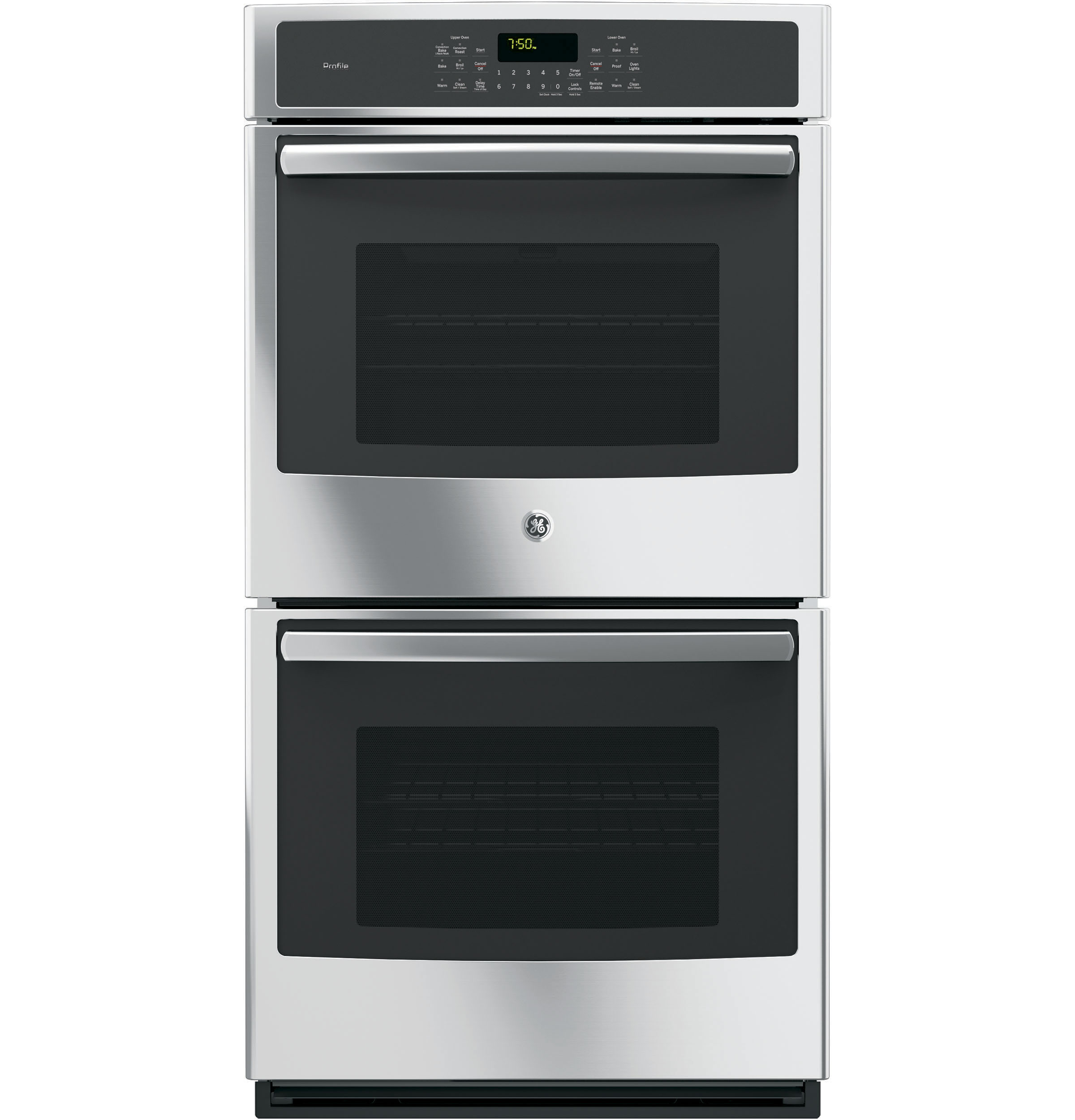 "GE Profile GE Profile™ Series 27"" Built-In Double Convection Wall Oven"