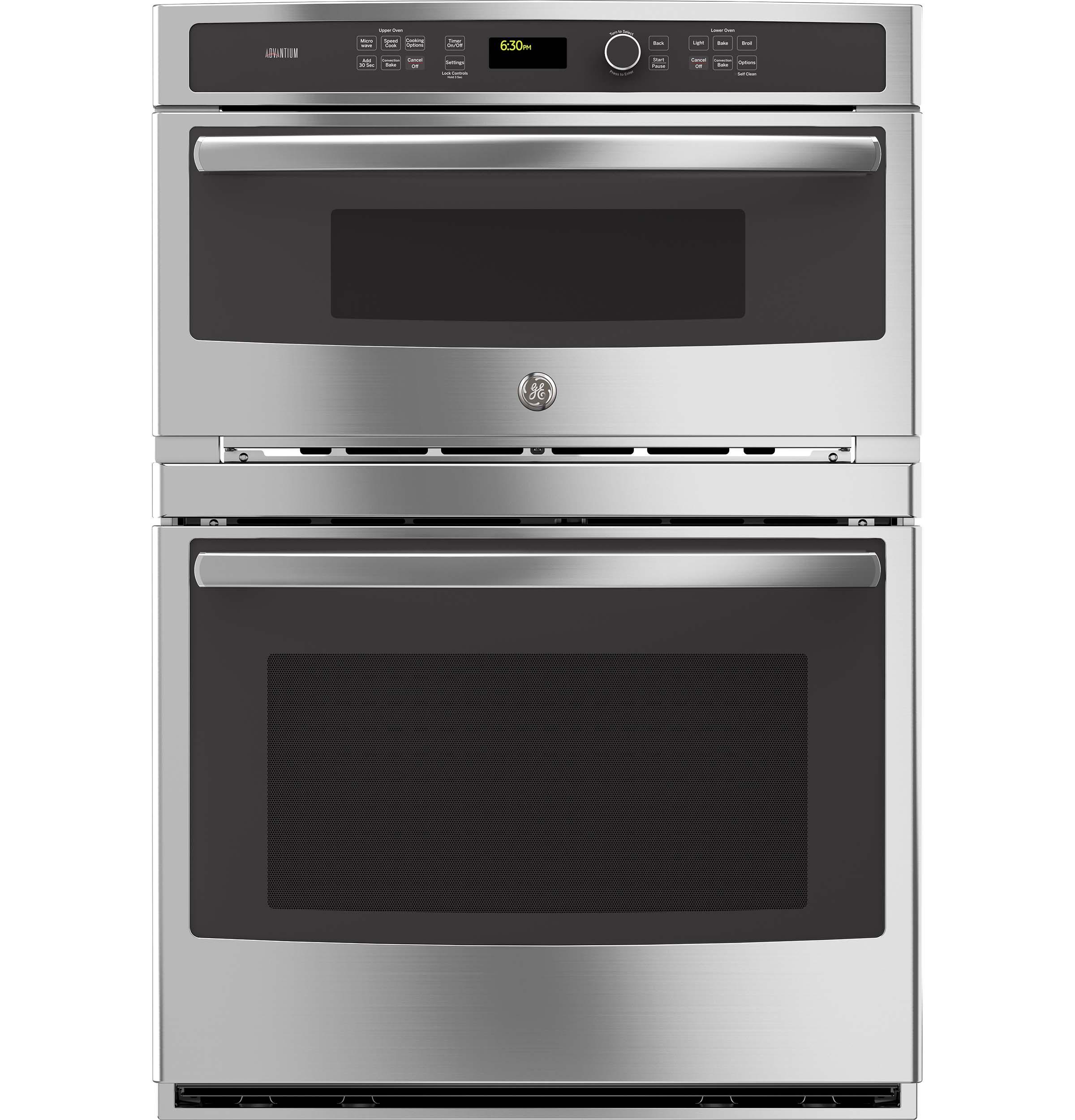 GE Profile GE Profile™ Series 30 in. Combination Double Wall Oven with Convection and Advantium® Technology