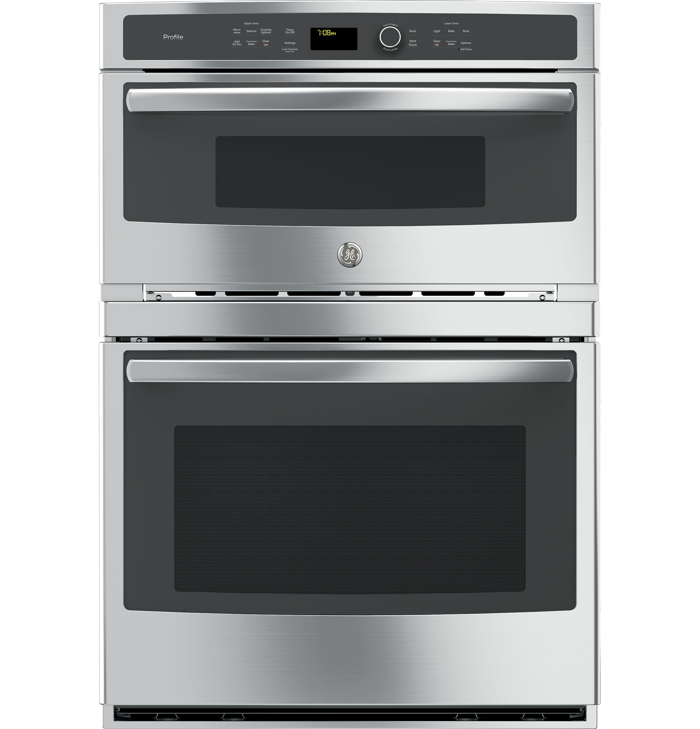 "GE Profile GE Profile™ 30"" Built-In Combination Convection Microwave/Convection Wall Oven"