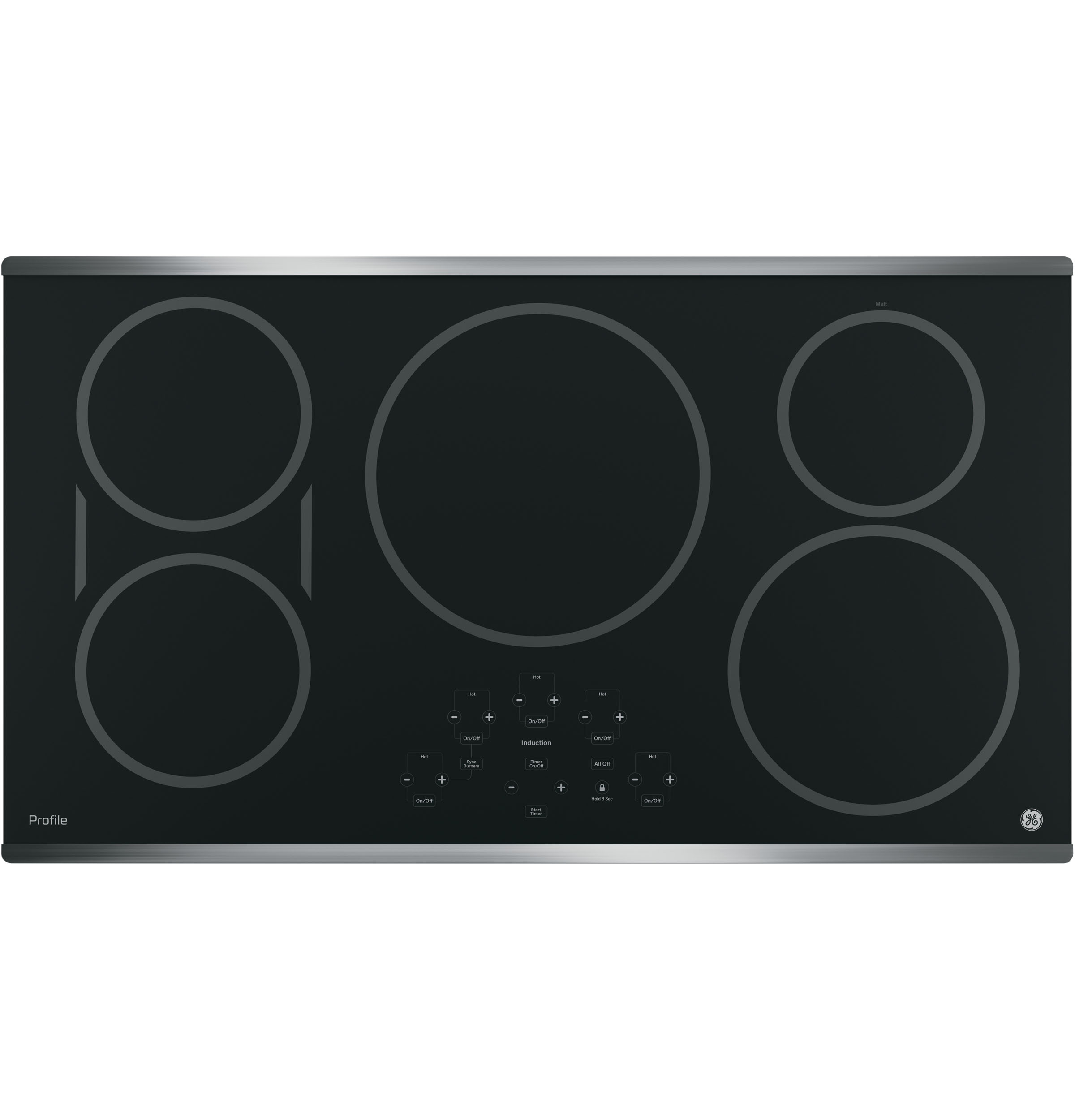 "GE Profile GE Profile™ Series 36"" Built-In Touch Control Induction Cooktop"