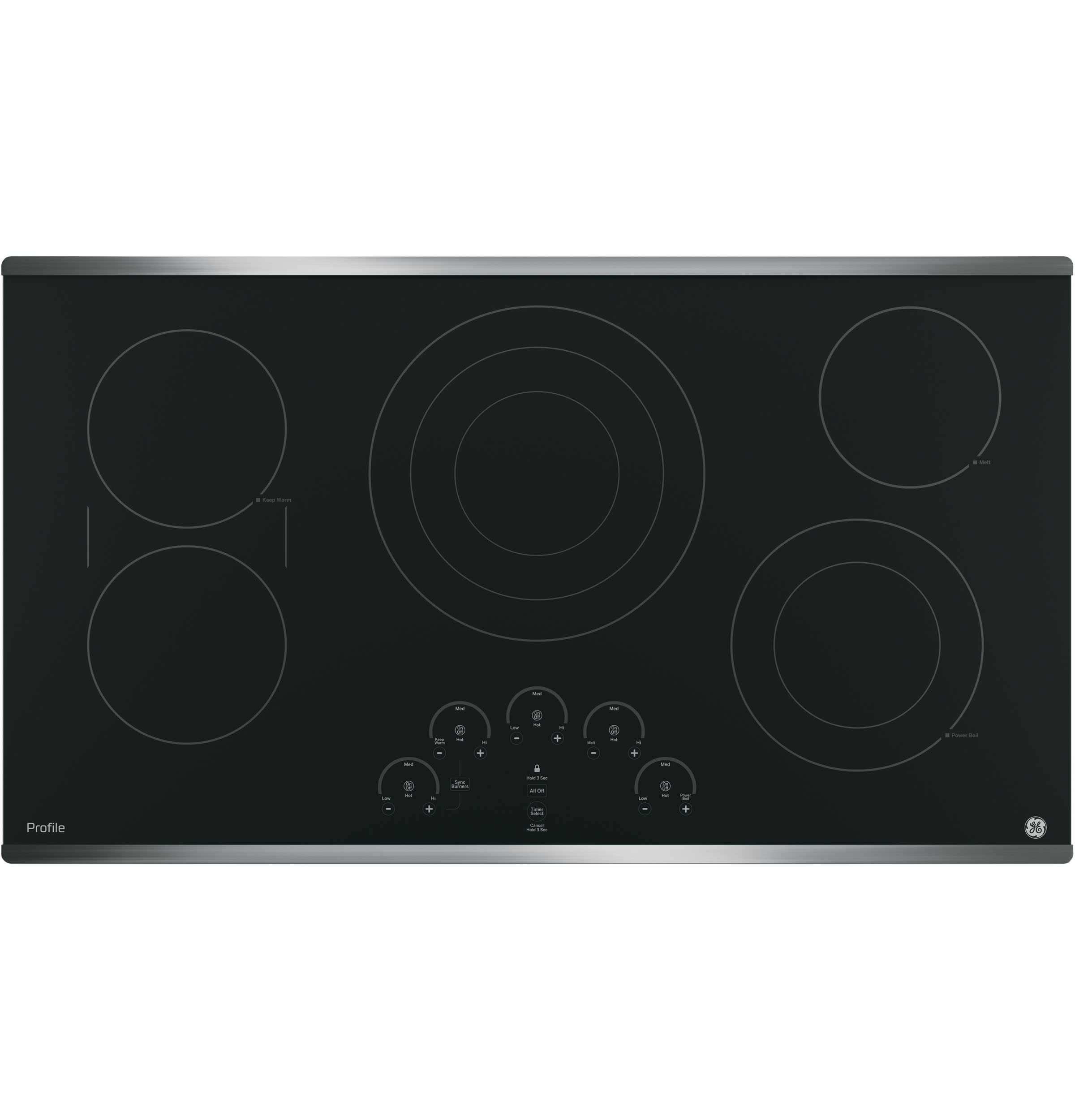 "GE Profile GE Profile™ 36"" Built-In Touch Control Cooktop"