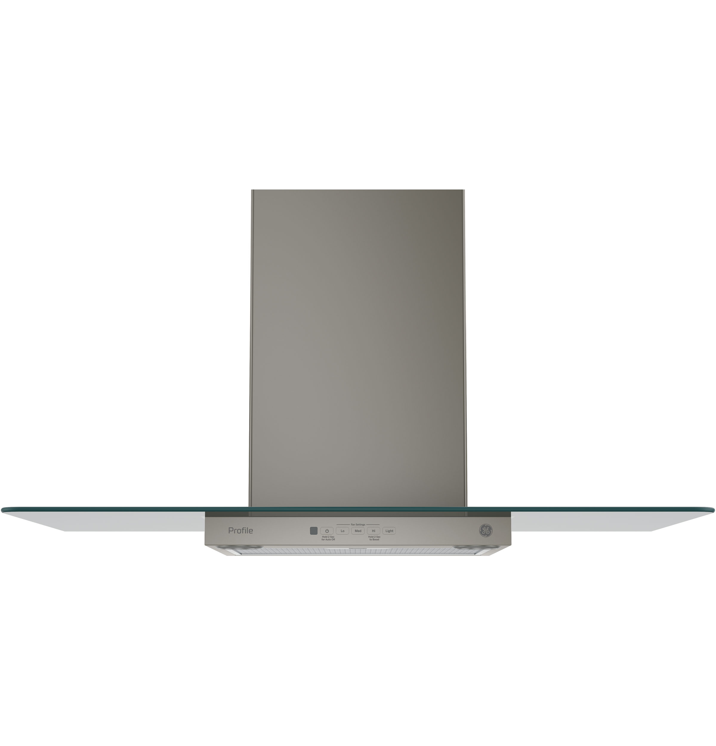 "GE Profile GE Profile™ Series 36"" Wall-Mount Glass Canopy Chimney Hood"