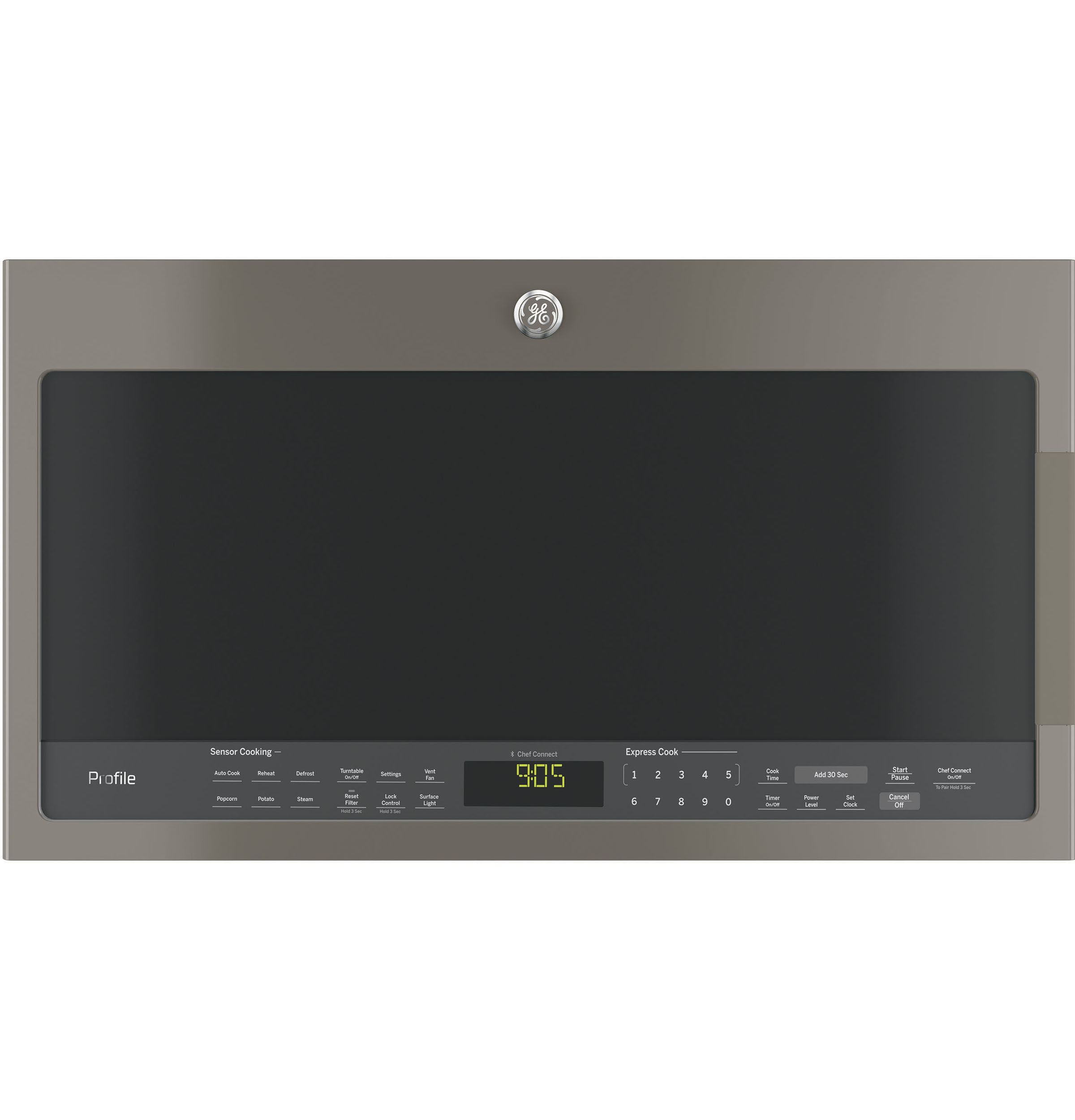 GE Profile GE Profile™ Series 2.1 Cu. Ft. Over-the-Range Sensor Microwave Oven
