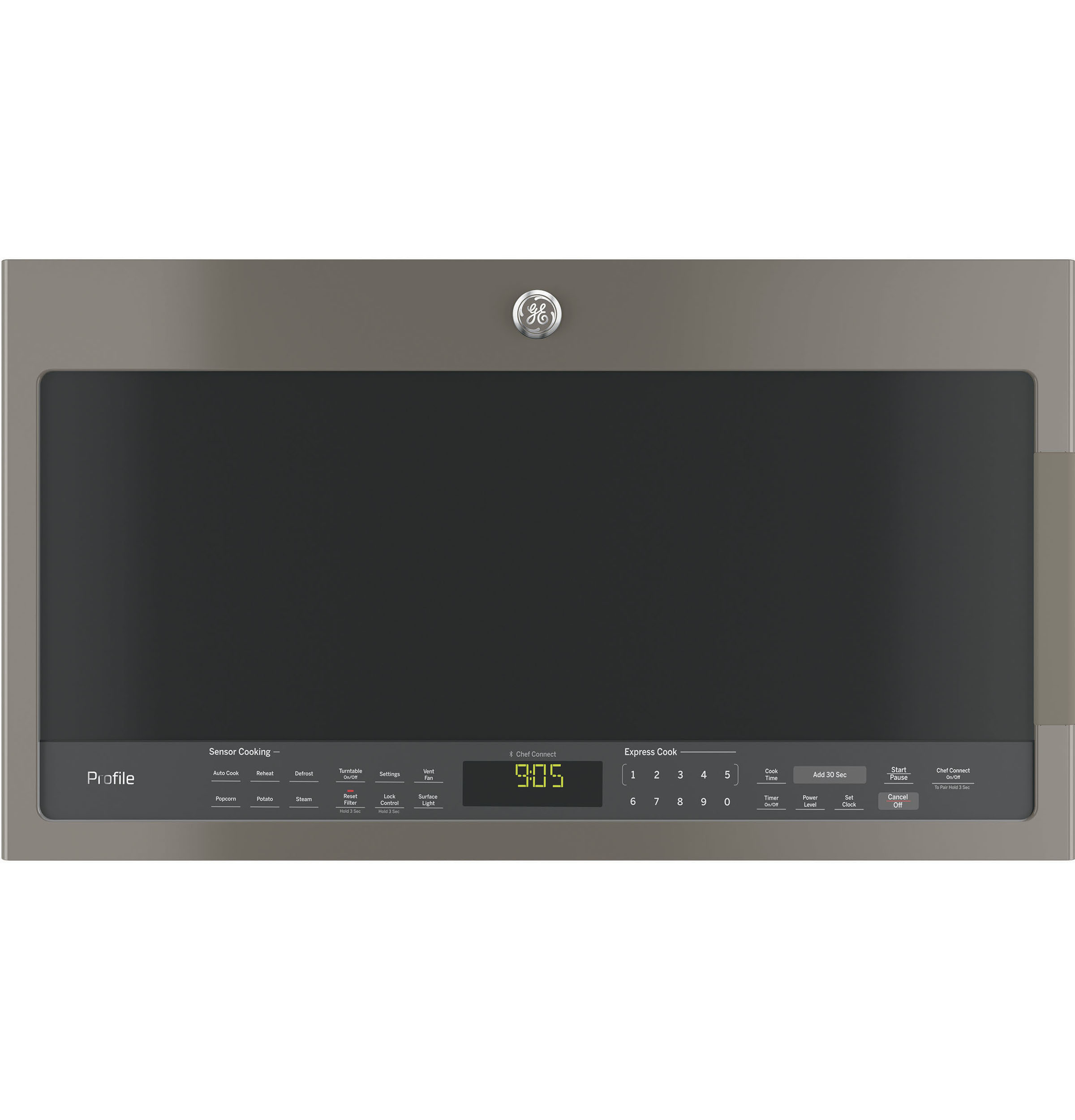 Model: PVM9005EJES | GE Profile™ Series 2.1 Cu. Ft. Over-the-Range Sensor Microwave Oven
