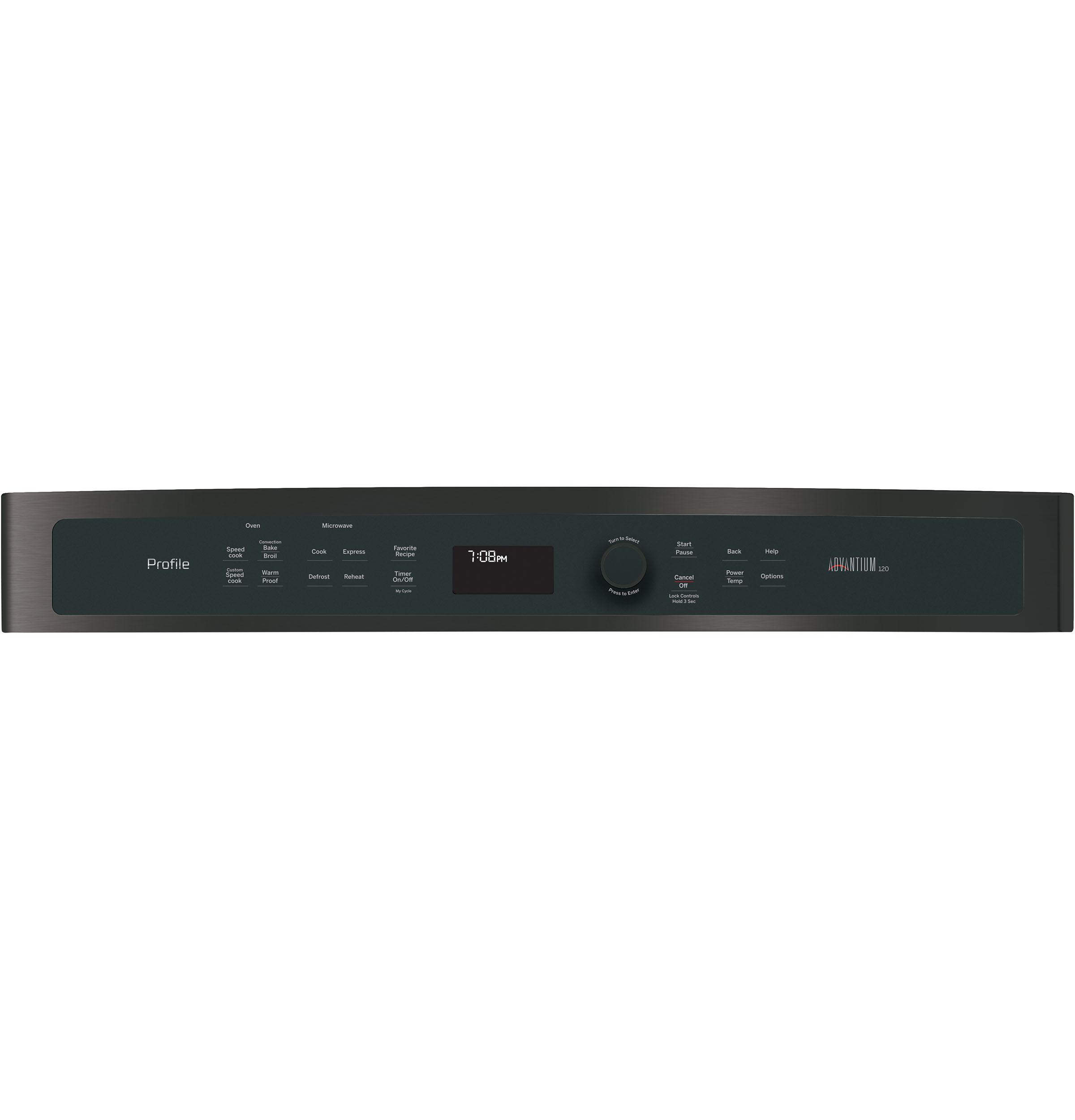Model: PSB9100BLTS | GE Profile™ Series 27 in. Single Wall Oven Advantium® Technology