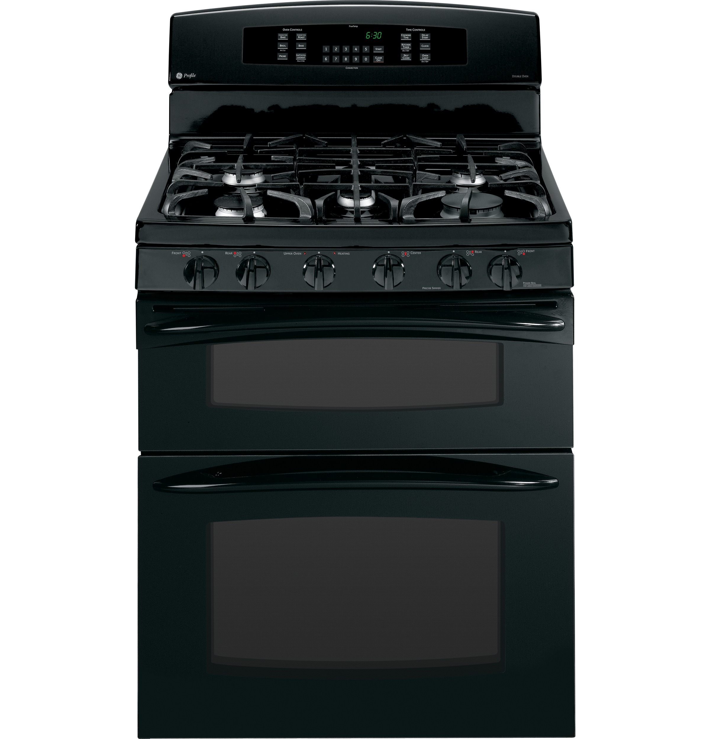 """GE Profile GE Profile™ 30"""" Free-Standing Gas Double Oven with Convection Range"""