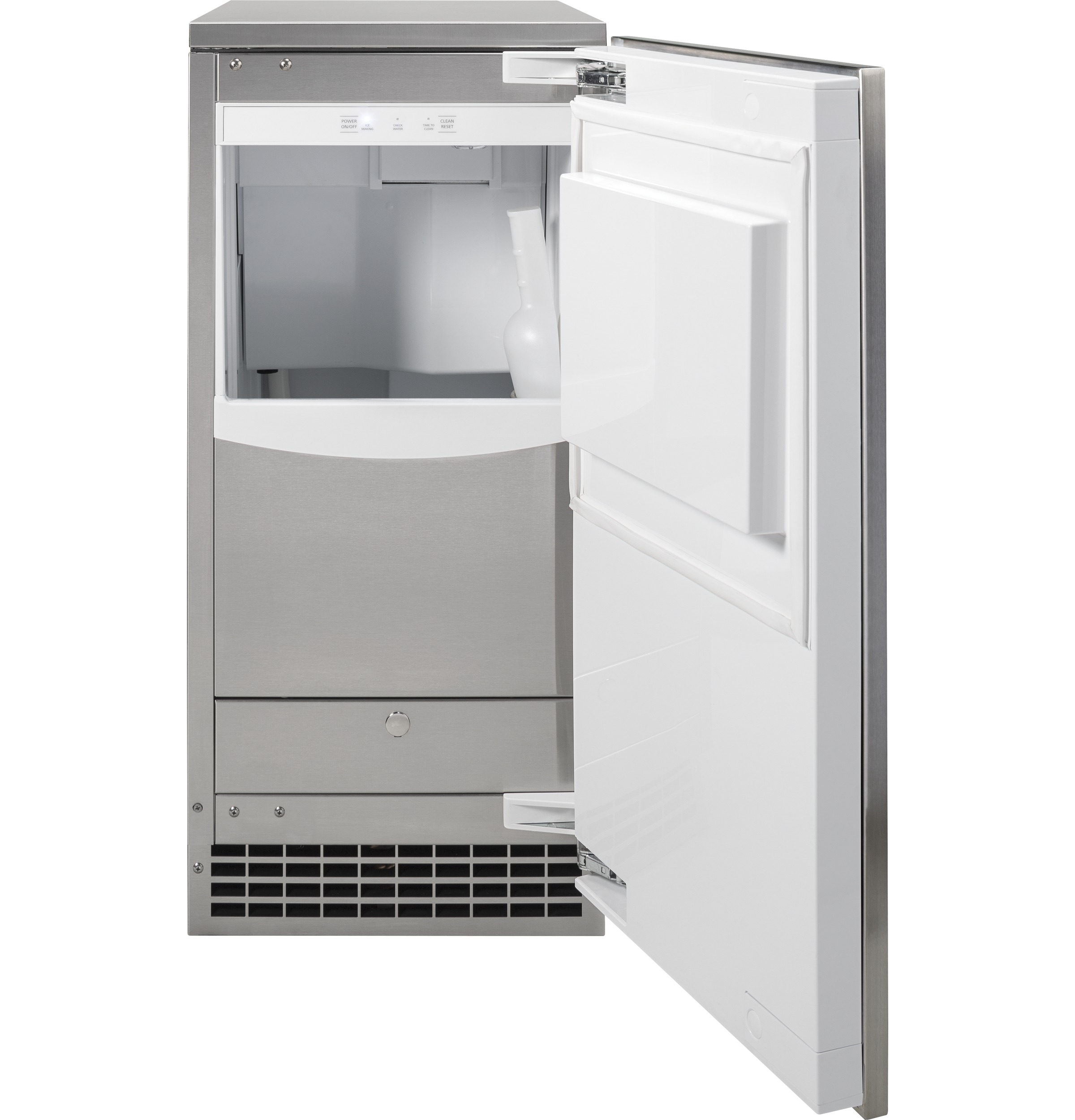Model: UNC15NJII | GE Profile Ice Maker 15-Inch - Nugget Ice