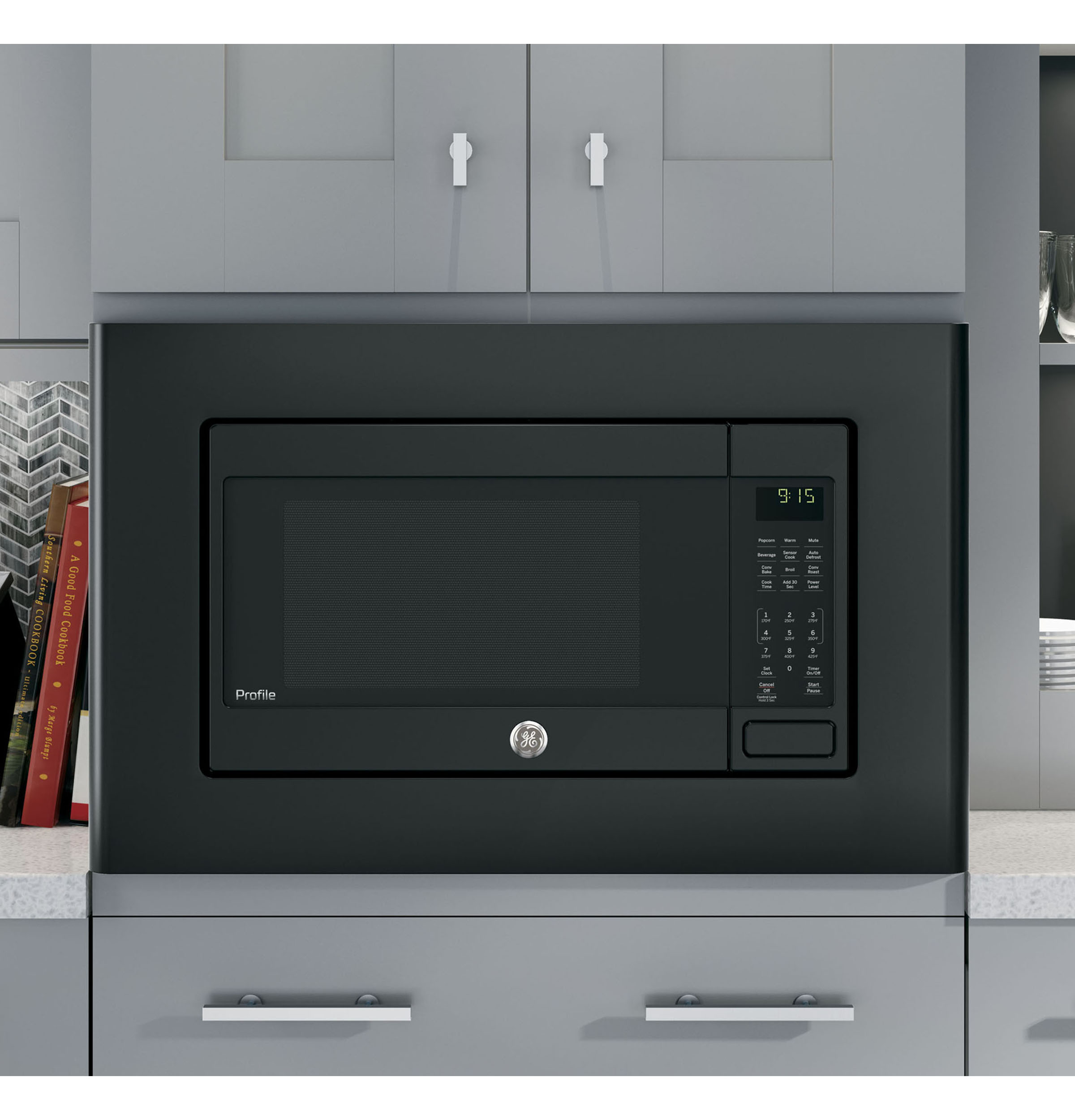 Model: PEB9159DJBB | GE Profile GE Profile™ Series 1.5 Cu. Ft. Countertop Convection/Microwave Oven