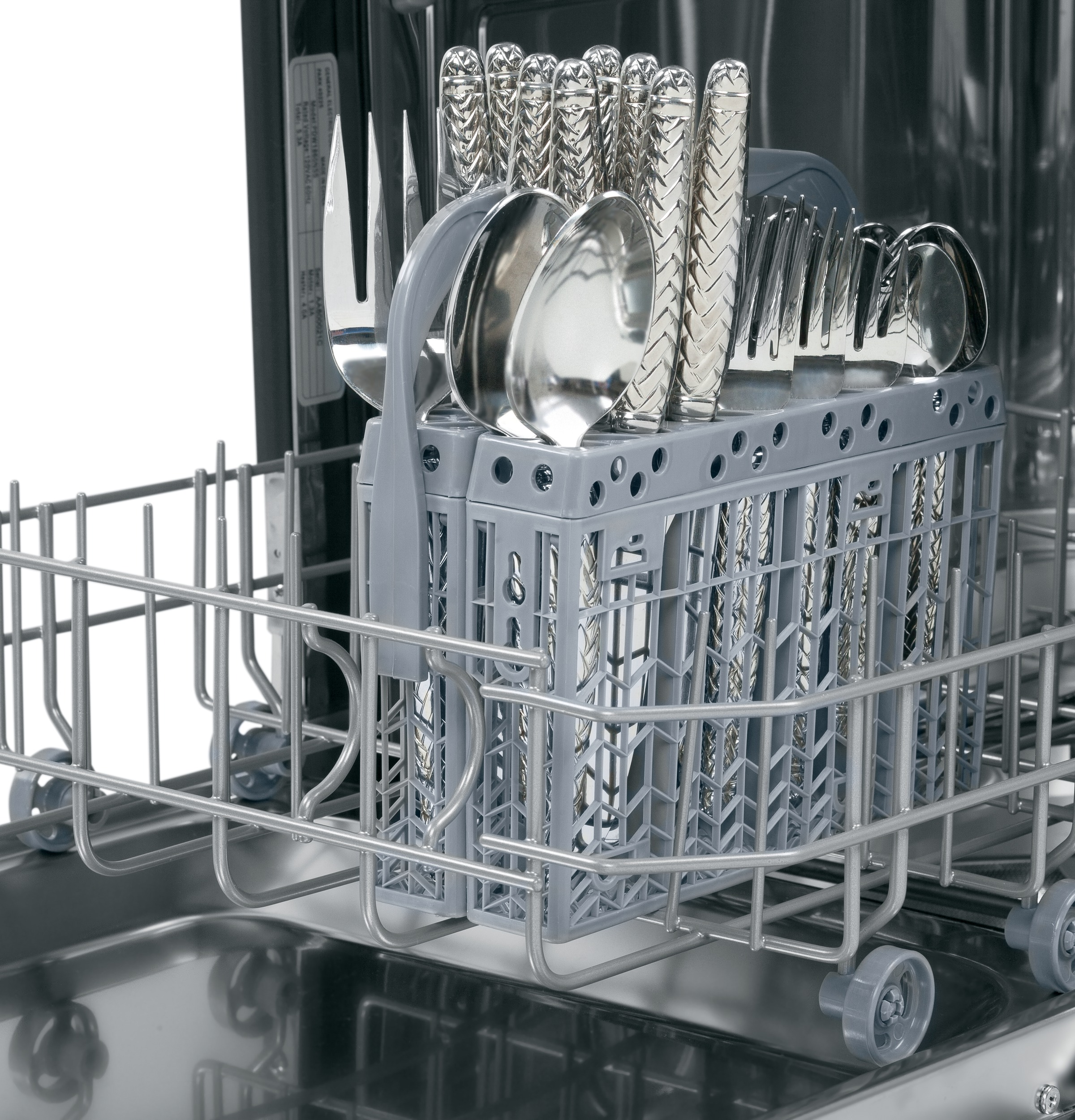 "Model: PDW1800KWW | GE Profile GE Profile™ Series 18"" Built-In Dishwasher"