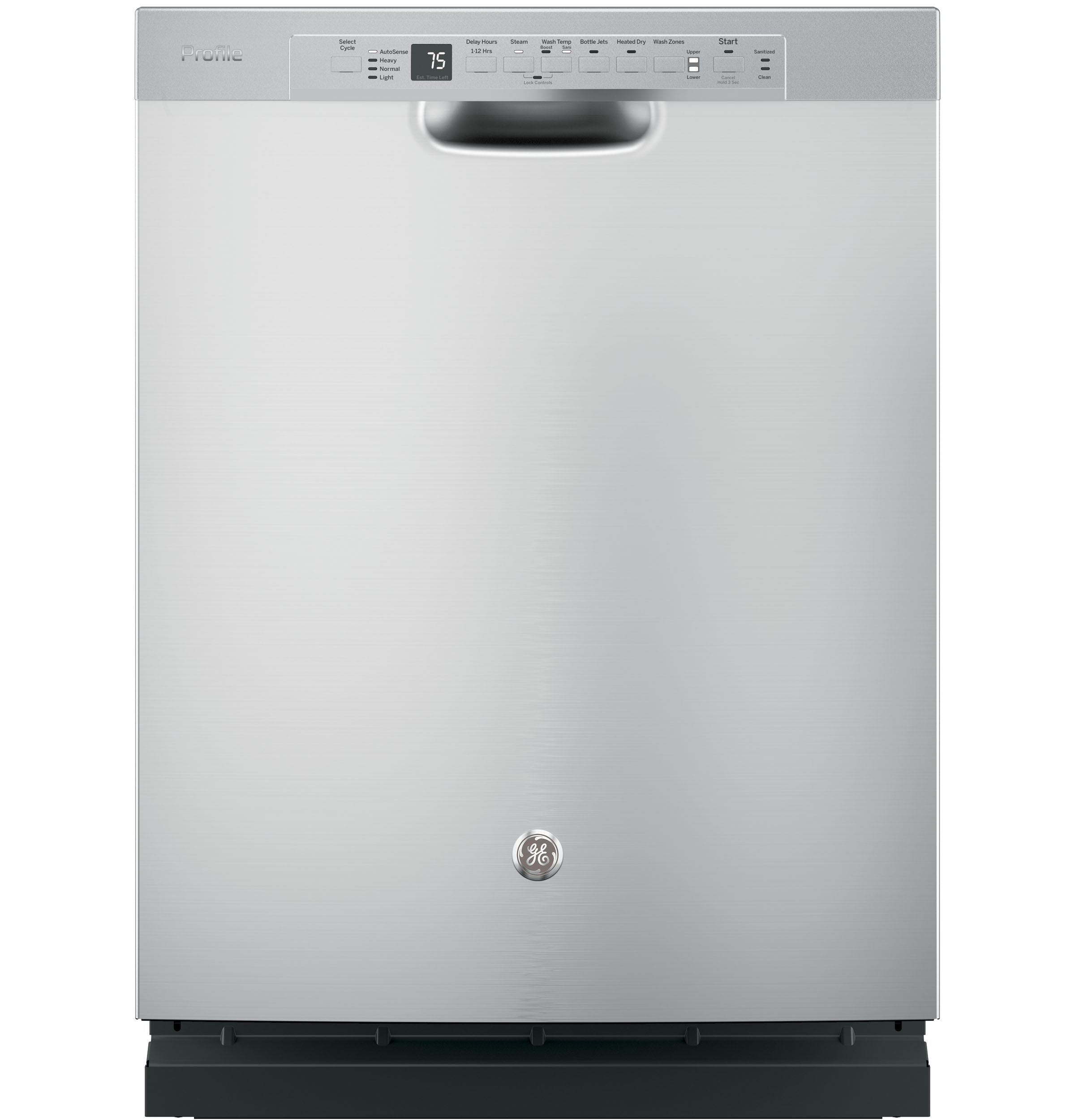 GE Profile GE Profile™ Stainless Steel Interior Dishwasher with Front Controls