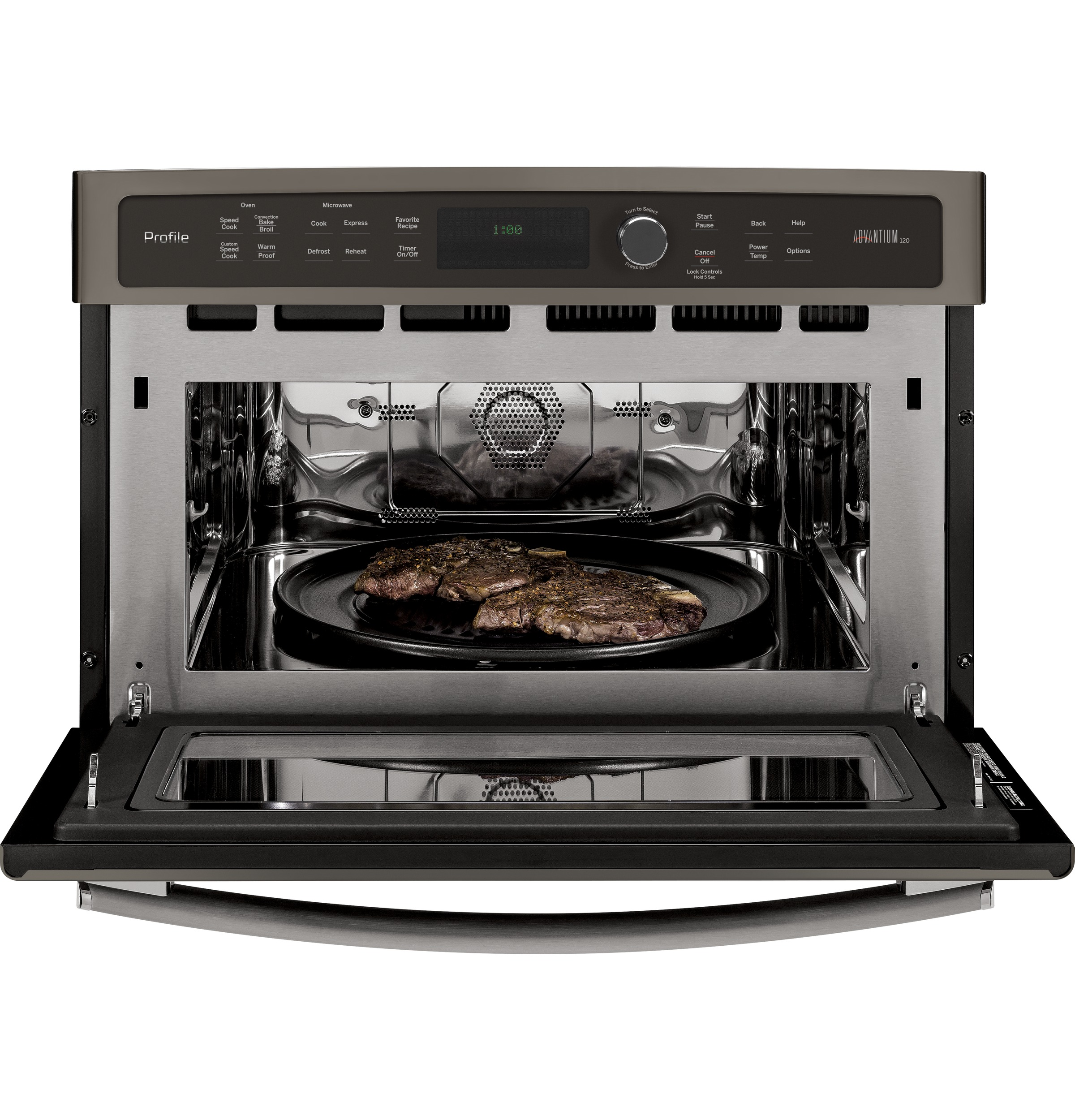 Model: PSB9100EFES | GE Profile GE Profile™ Series 27 in. Single Wall Oven Advantium® Technology