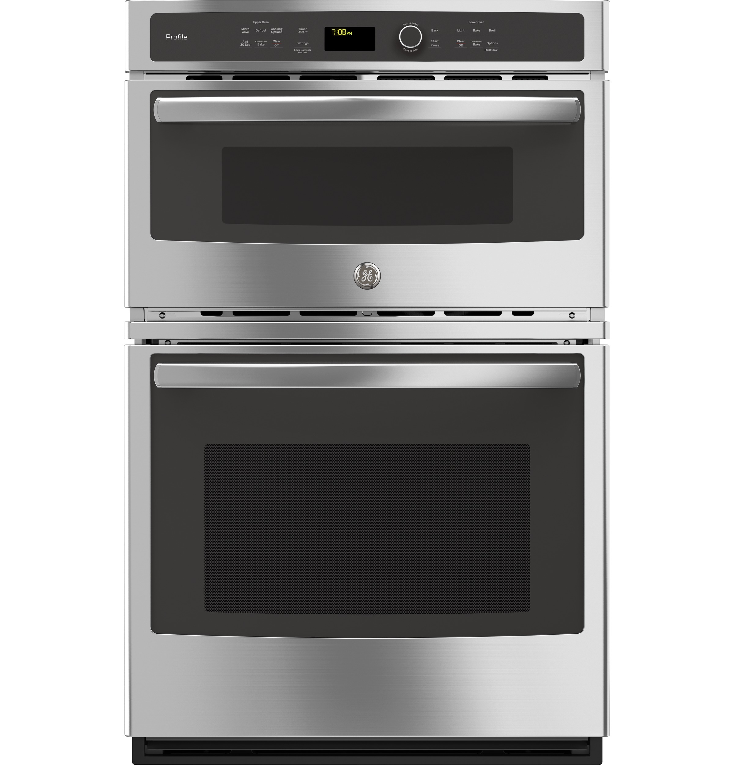 "Model: PK7800SKSS | GE Profile GE Profile™ Series 27"" Built-In Combination Convection Microwave/Convection Wall Oven"