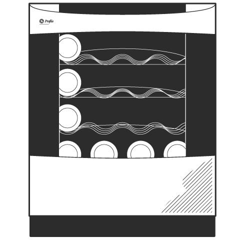 Model: PCR06WATSS | GE Profile GE Profile™ Series Wine Center