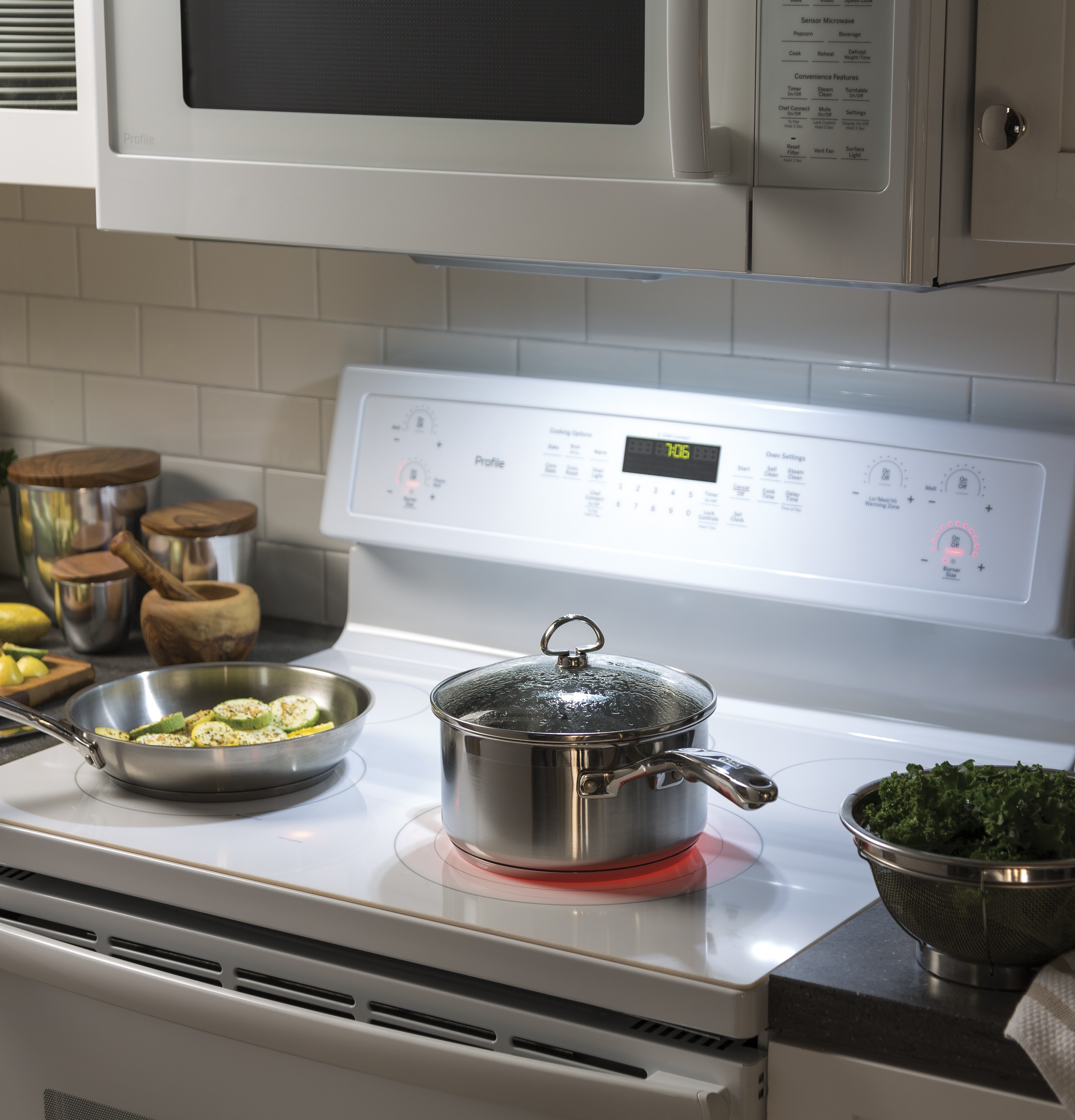 Model: PVM9179DKWW | GE Profile™ Series 1.7 Cu. Ft. Convection Over-the-Range Microwave Oven