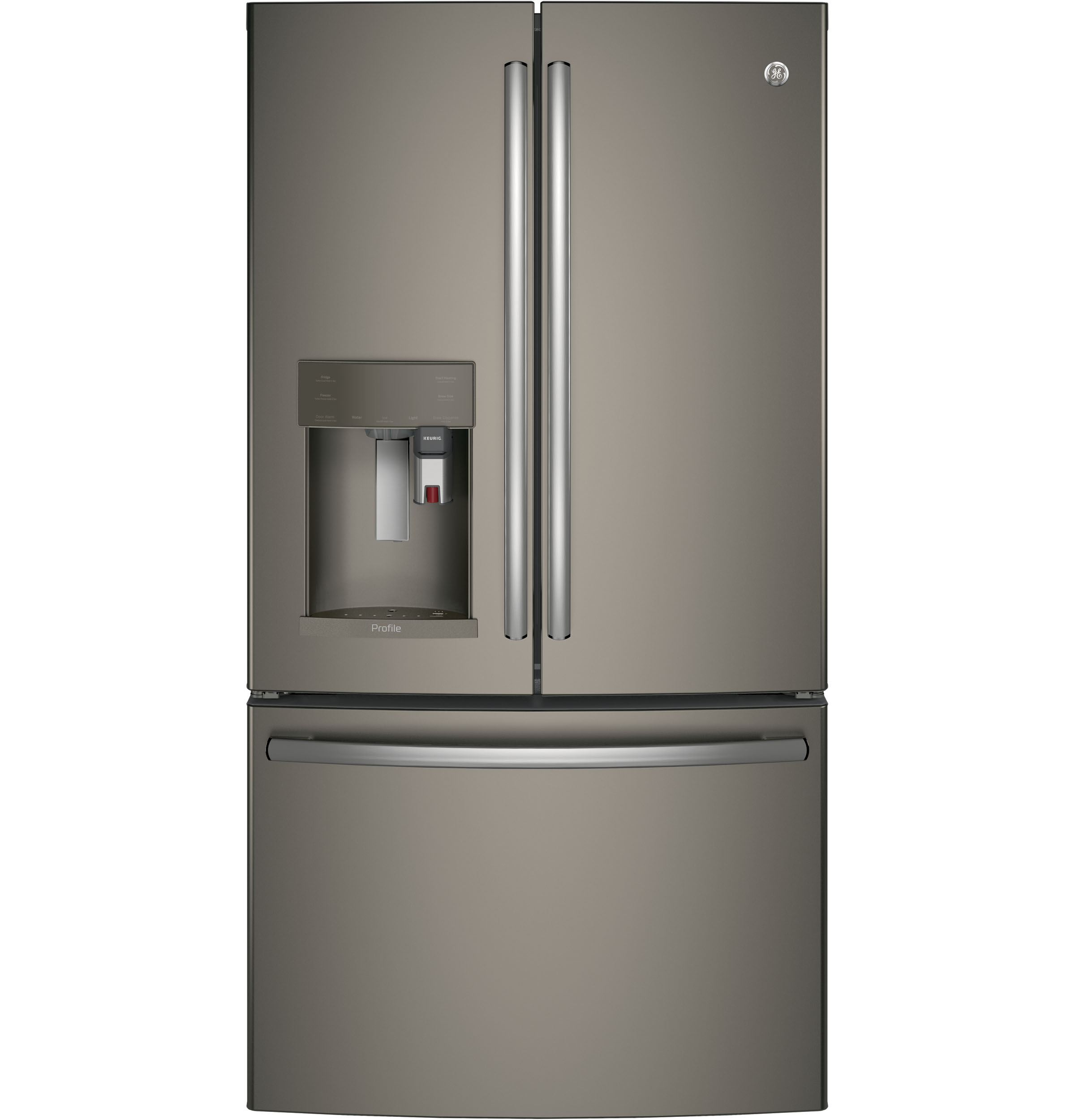 GE Profile GE Profile™ Series ENERGY STAR® 27.8 Cu. Ft. French-Door Refrigerator with Keurig® K-Cup® Brewing System