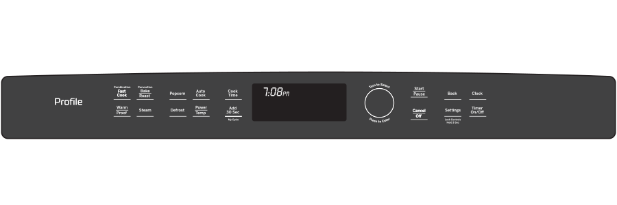 Model: PWB7030ELES | GE Profile™ Series Built-In Microwave/Convection Oven
