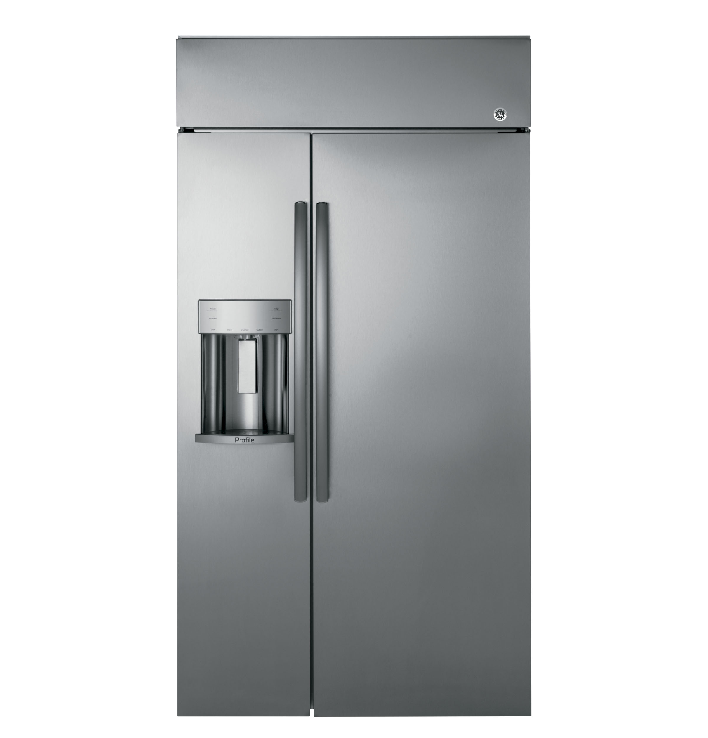 "GE Profile GE Profile™ Series 42"" Built-In Side-by-Side Refrigerator with Dispenser"