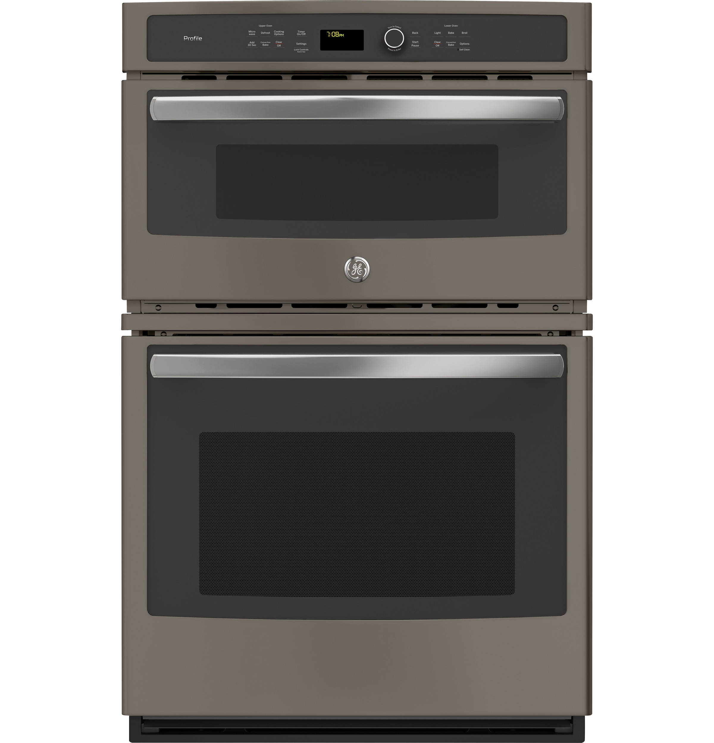 "GE Profile GE Profile™ Series 27"" Built-In Combination Convection Microwave/Convection Wall Oven"