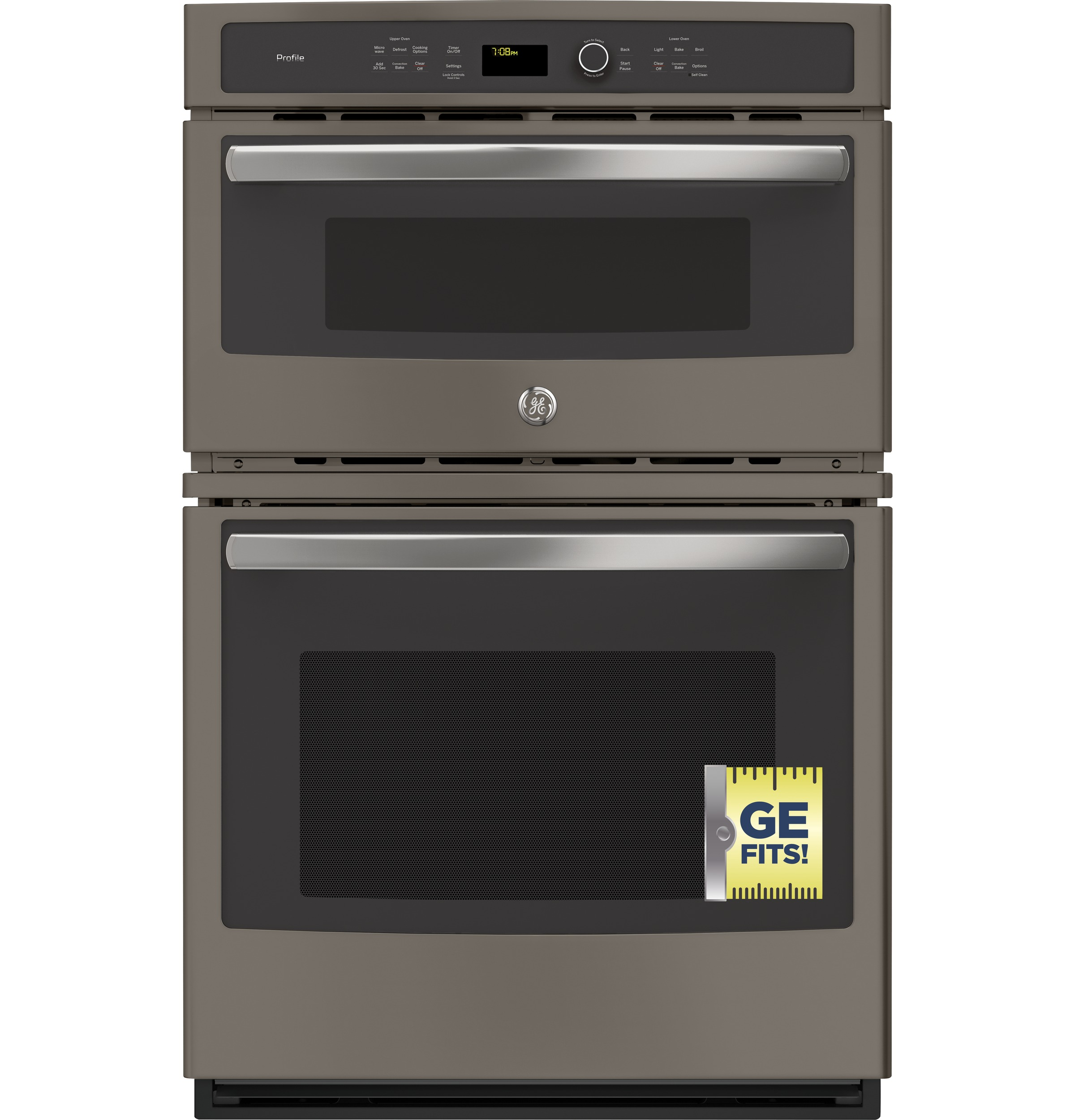 "Model: PK7800EKES | GE Profile GE Profile™ Series 27"" Built-In Combination Convection Microwave/Convection Wall Oven"