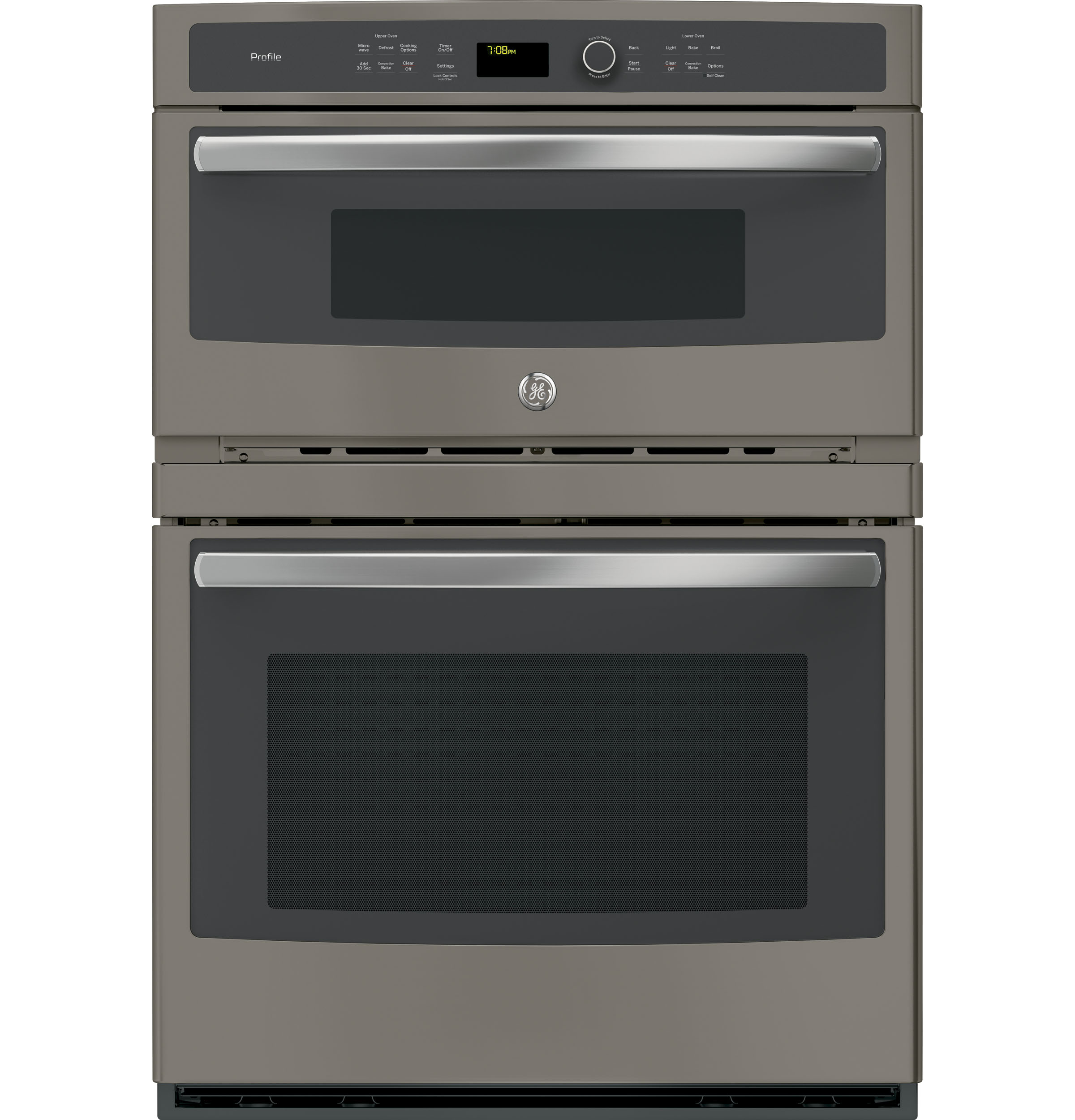 "GE Profile GE Profile™ Series 30"" Built-In Combination Convection Microwave/Convection Wall Oven"