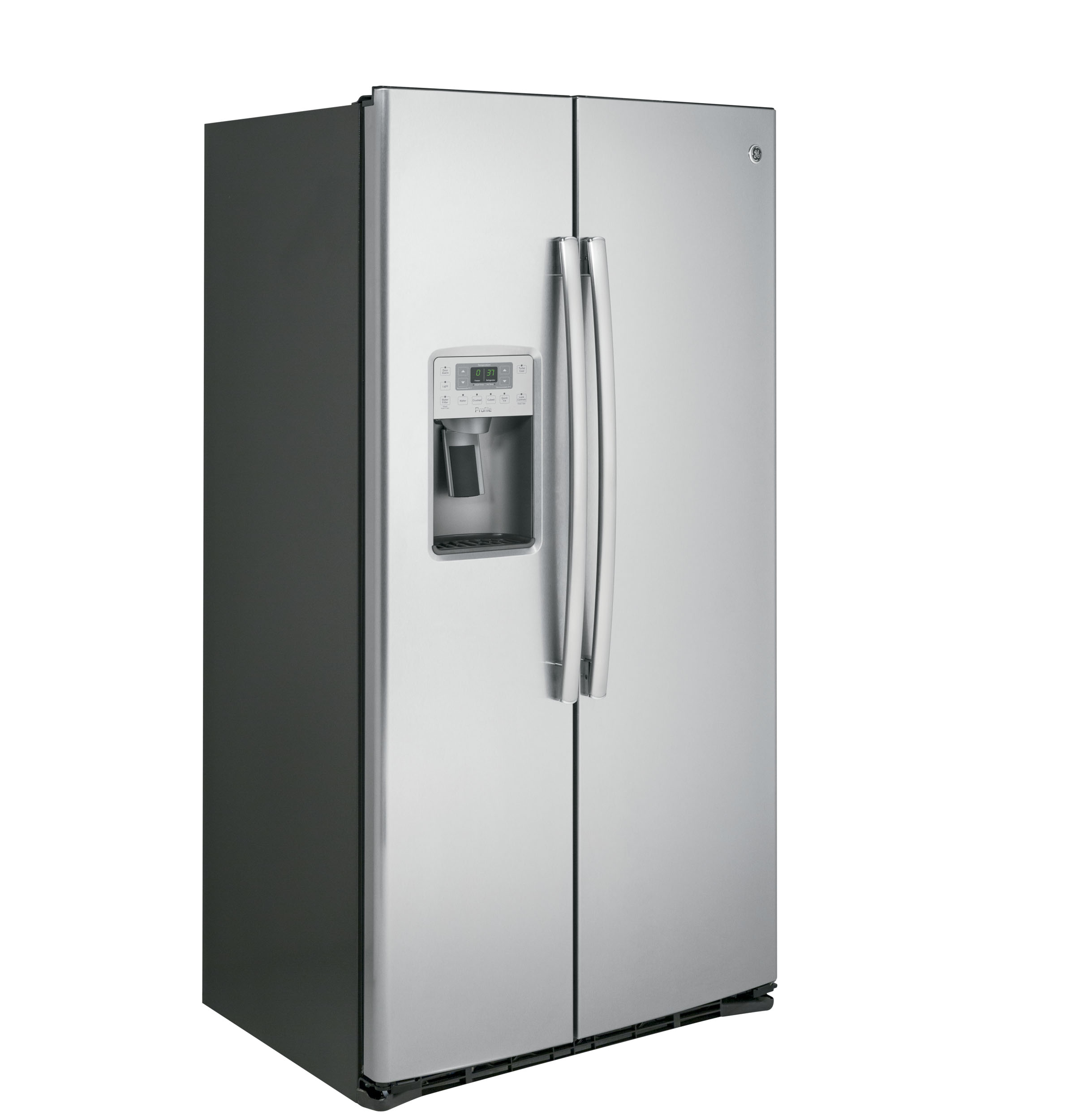 Model: PZS22MSKSS | GE Profile GE Profile™ Series 21.9 Cu. Ft. Counter-Depth Side-By-Side Refrigerator