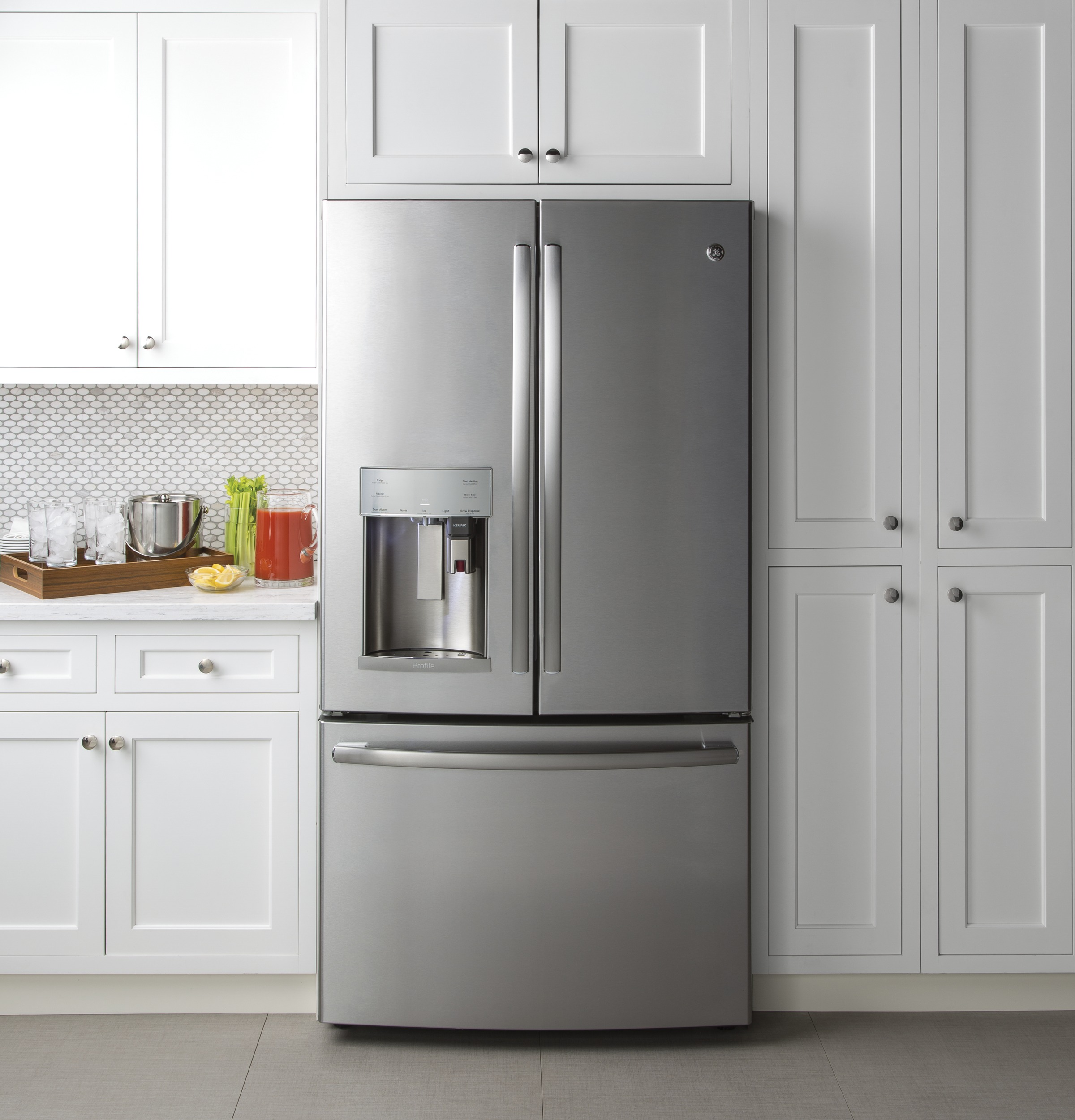 Model: PFE28PSKSS | GE Profile™ Series ENERGY STAR® 27.8 Cu. Ft. French-Door Refrigerator