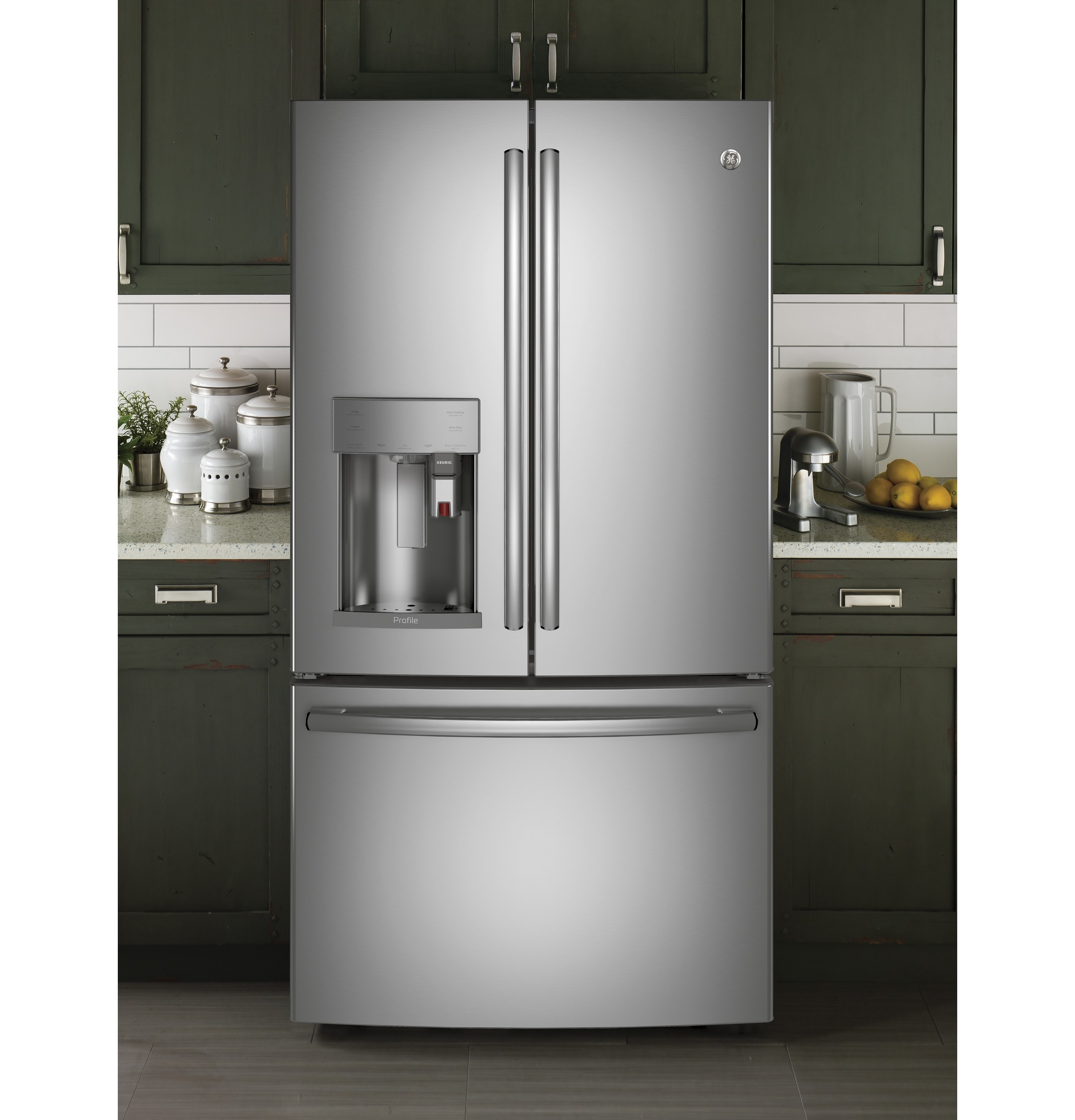 GE Profile™ Series ENERGY STAR® 27.8 Cu. Ft. French-Door Refrigerator