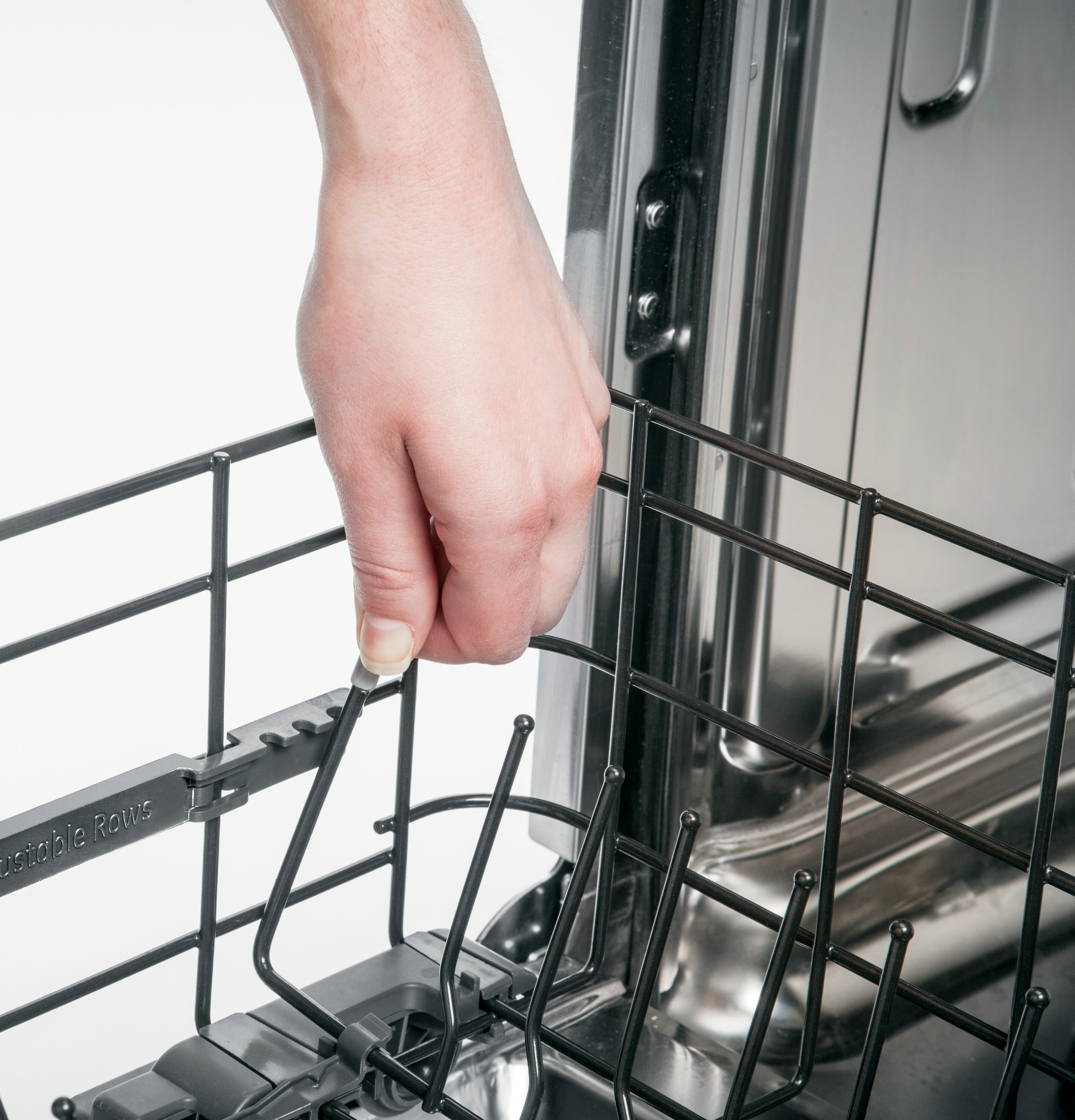 Model: PDT825SGJWW | GE Profile™ Stainless Steel Interior Dishwasher with Hidden Controls