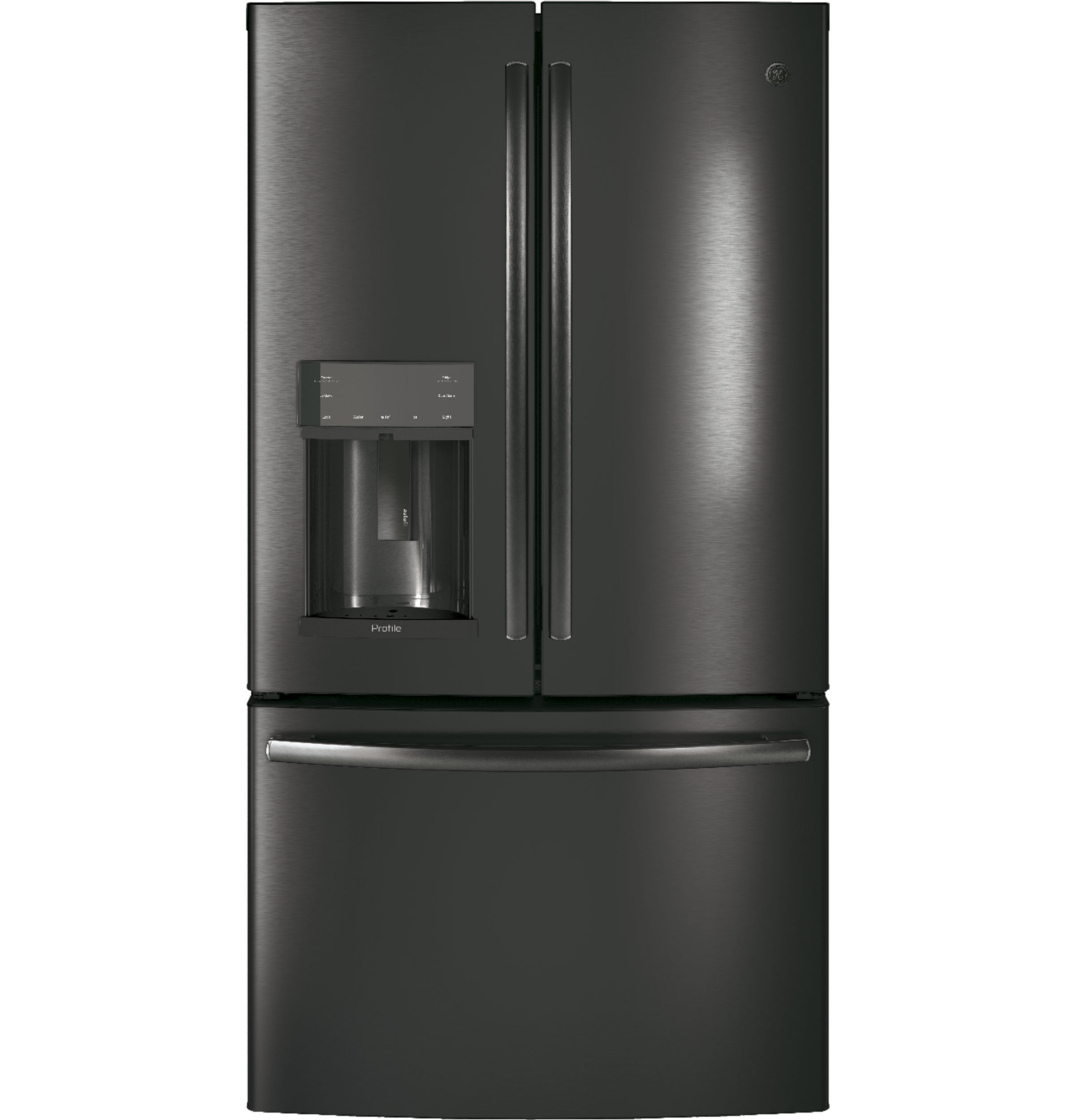 GE Profile GE Profile™ Series ENERGY STAR® 22.2 Cu. Ft. Counter-Depth French-Door Refrigerator with Hands-Free AutoFill
