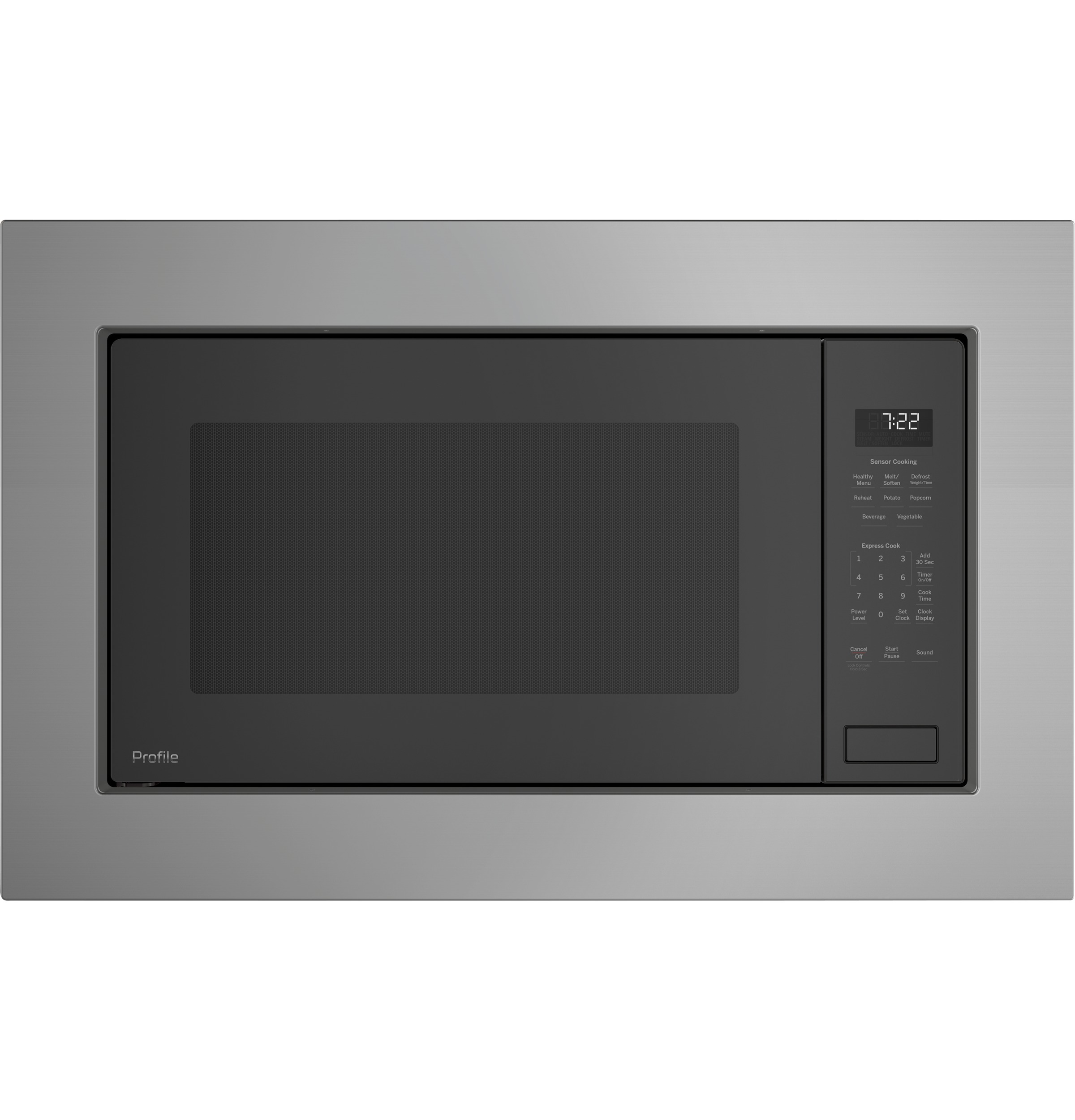 GE Profile GE Profile™ Series 2.2 Cu. Ft. Built-In Sensor Microwave Oven