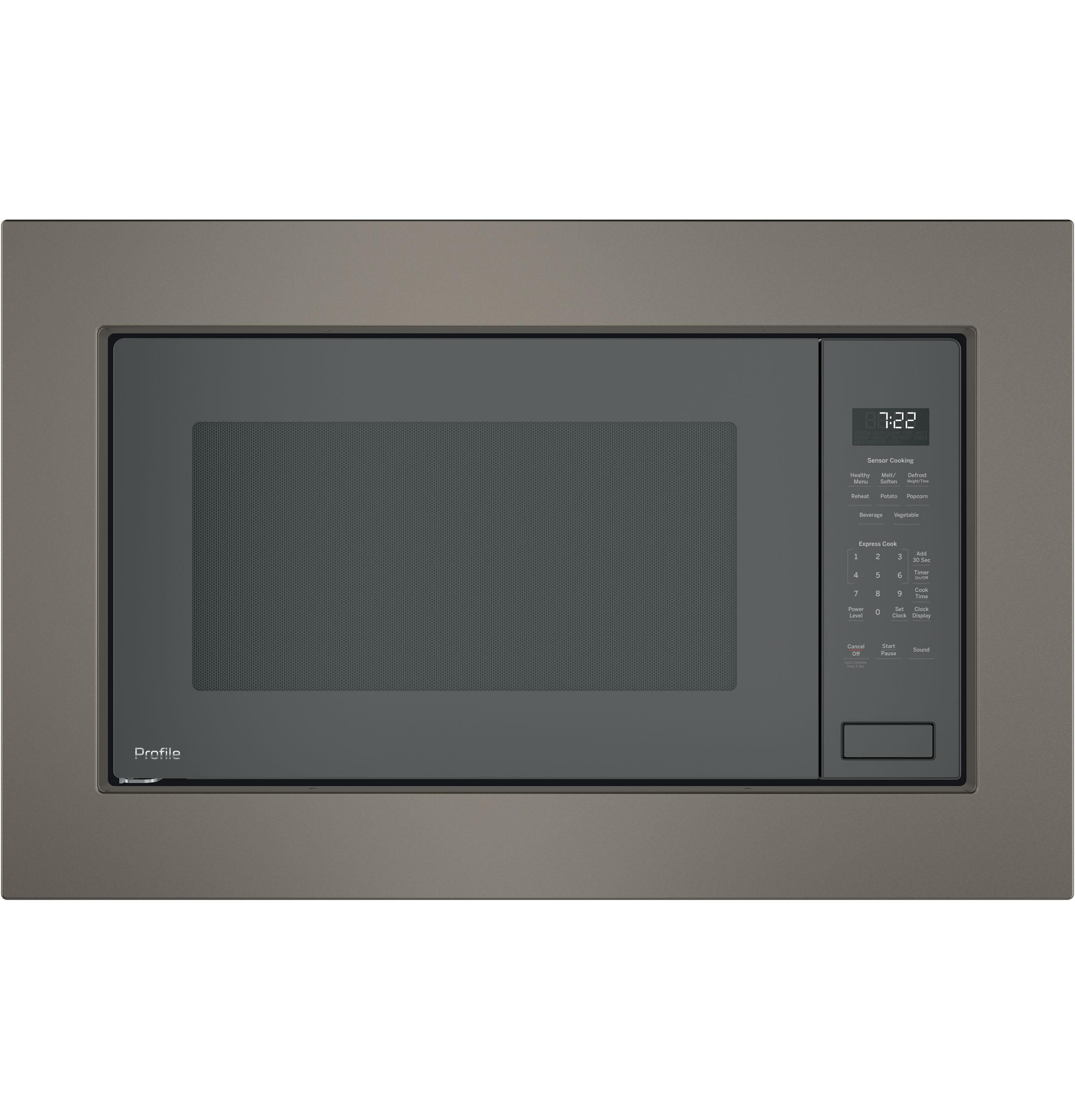 Model: PEB7227SLSS | GE Profile™ Series 2.2 Cu. Ft. Built-In Sensor Microwave Oven