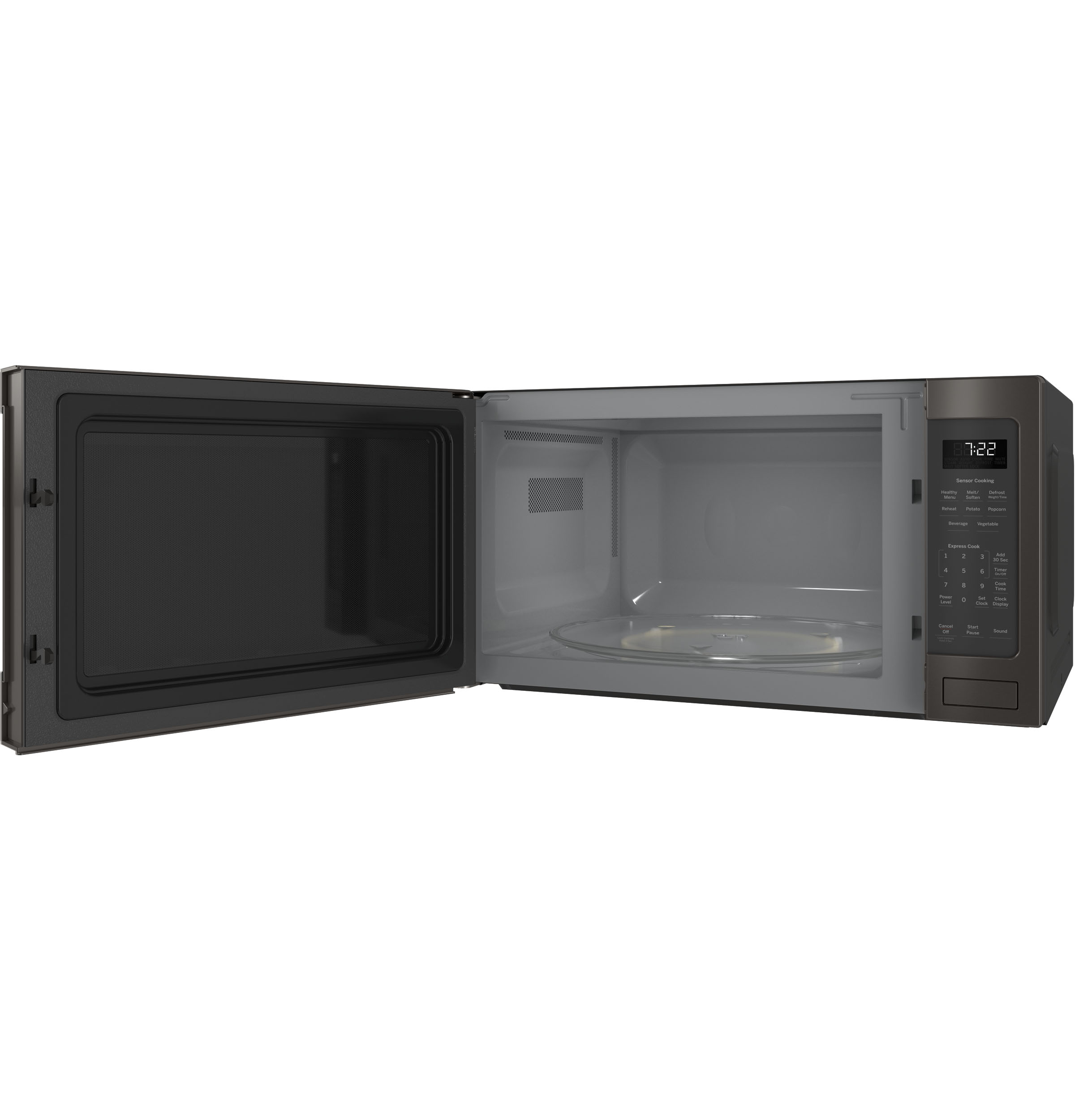 Model: PES7227BLTS | GE Profile GE Profile™ Series 2.2 Cu. Ft. Countertop Sensor Microwave Oven