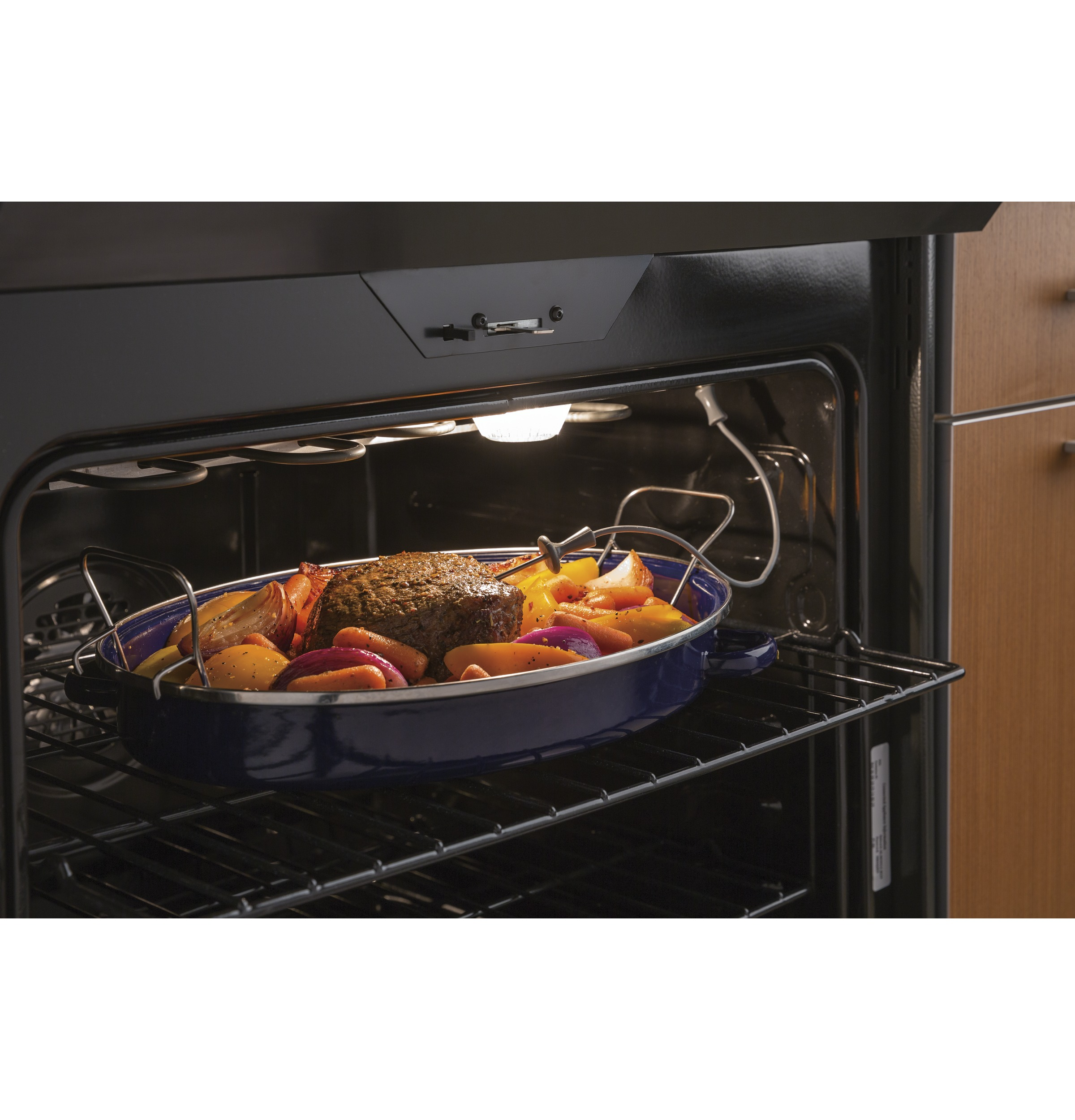 "Model: PHS930SLSS | GE Profile GE Profile™ Series 30"" Slide-In Front Control Induction and Convection Range"