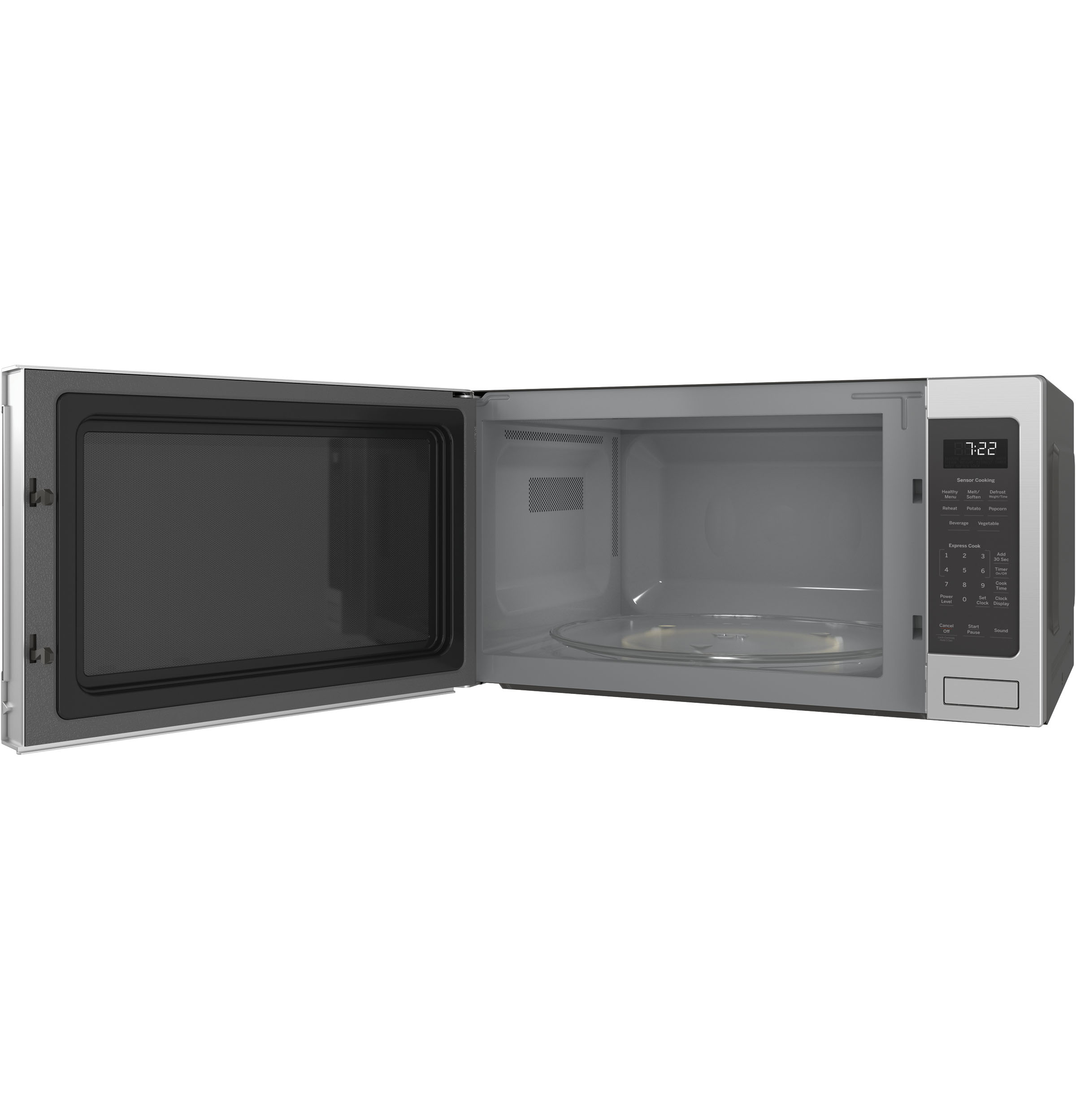Model: PES7227SLSS | GE Profile™ Series 2.2 Cu. Ft. Countertop Sensor Microwave Oven