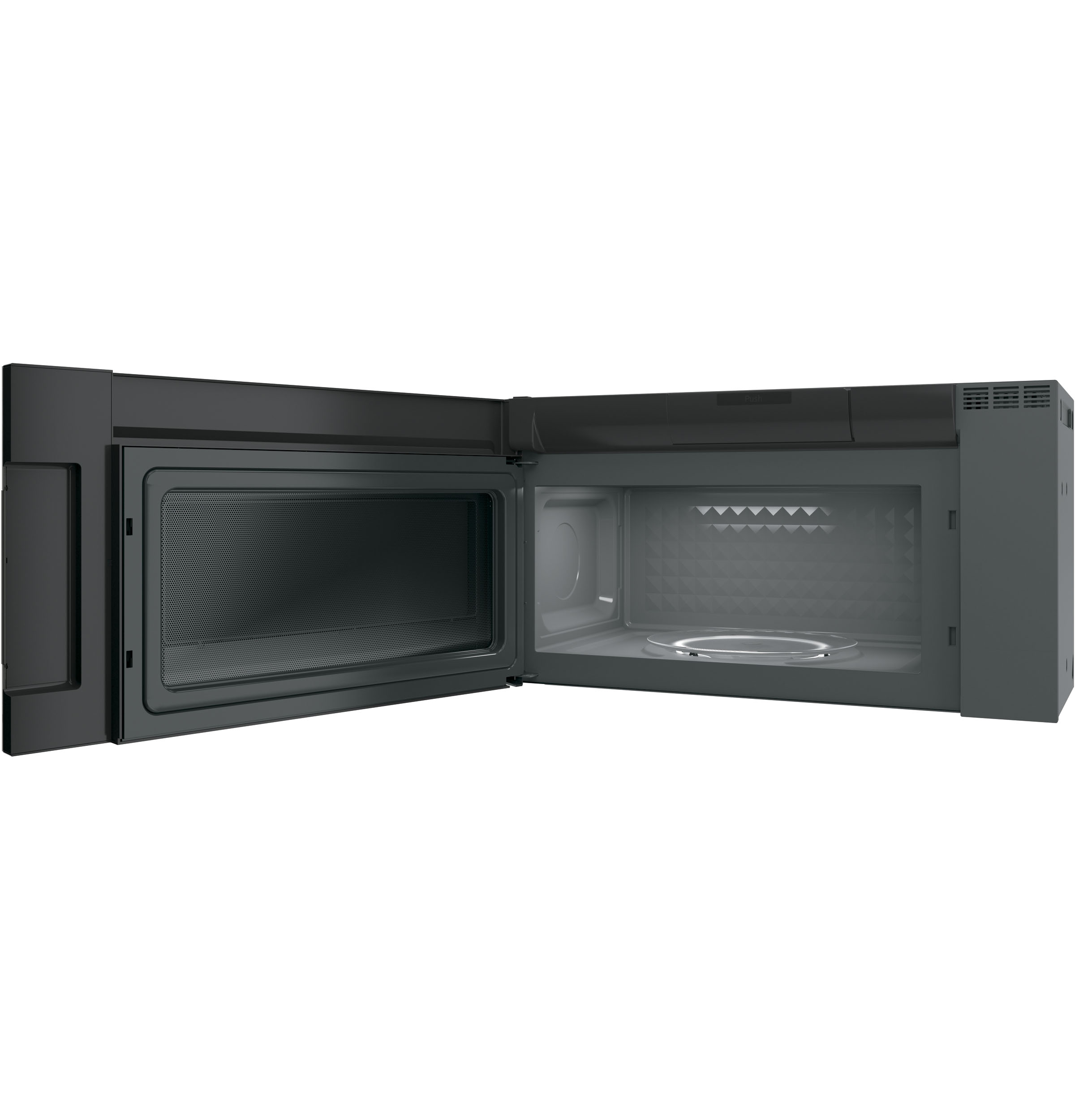 Model: PVM9005BLTS | GE Profile™ Series 2.1 Cu. Ft. Over-the-Range Sensor Microwave Oven